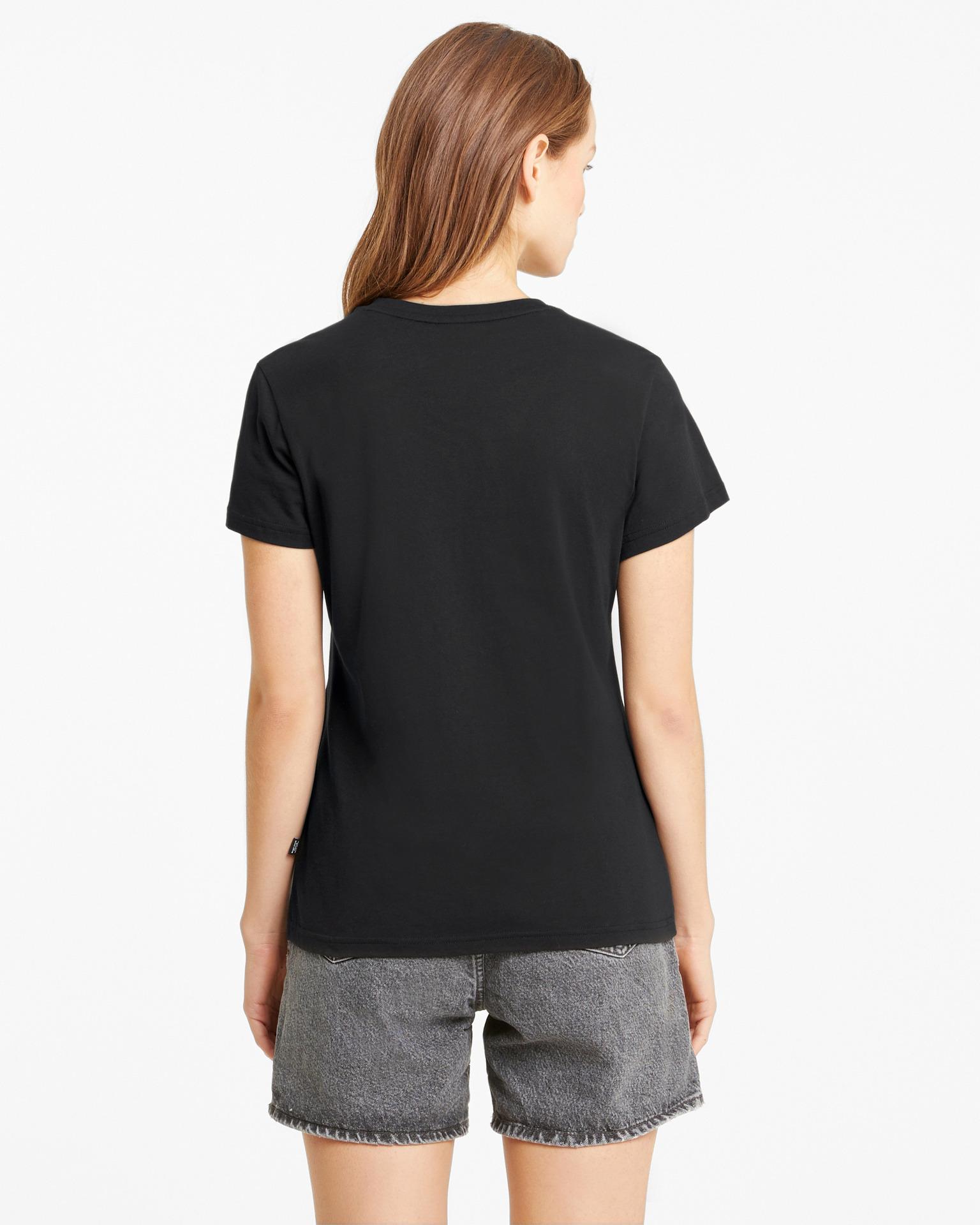 Puma černé dámské tričko Heart