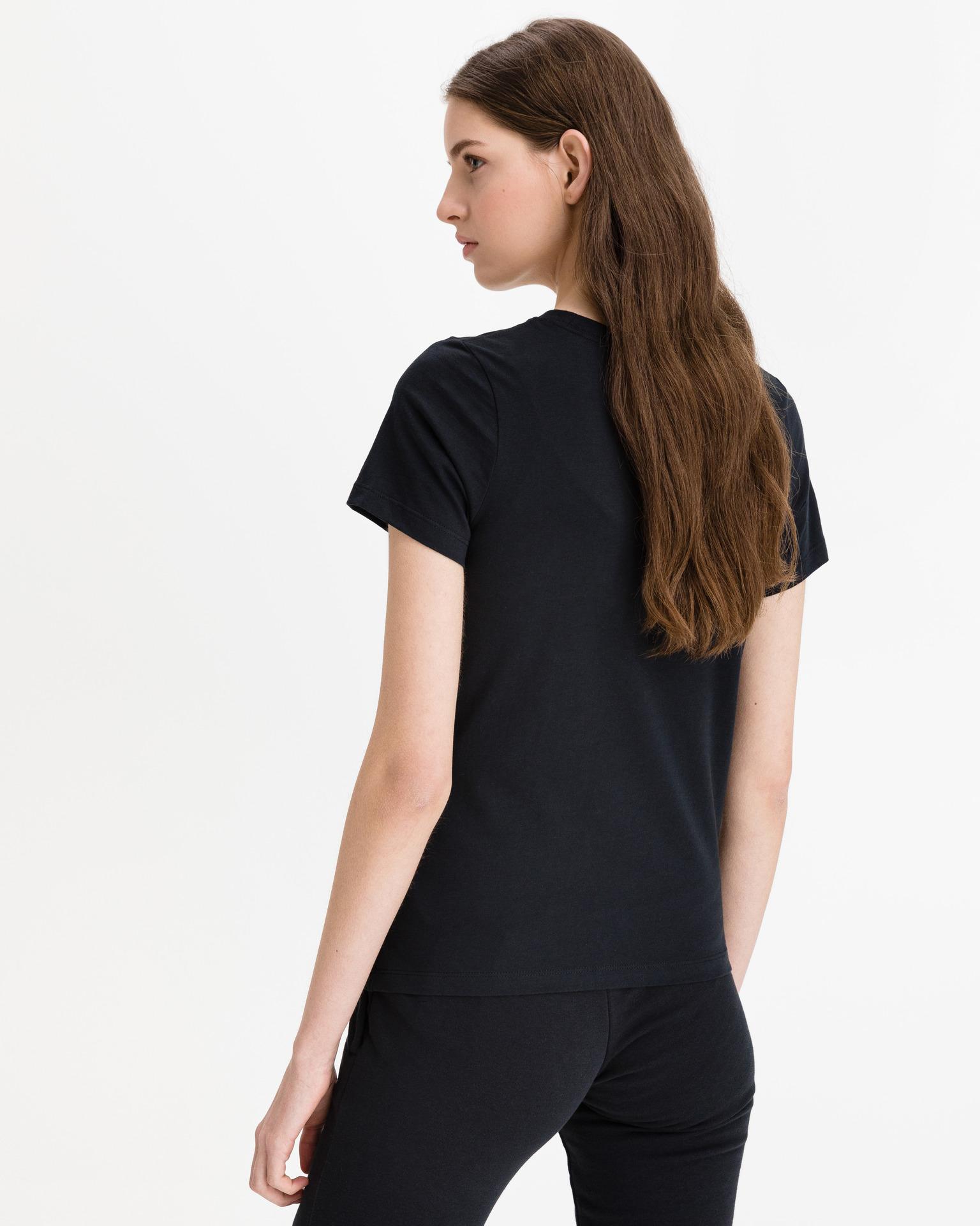 Converse černé dámské tričko Multi Star Chuck Patch