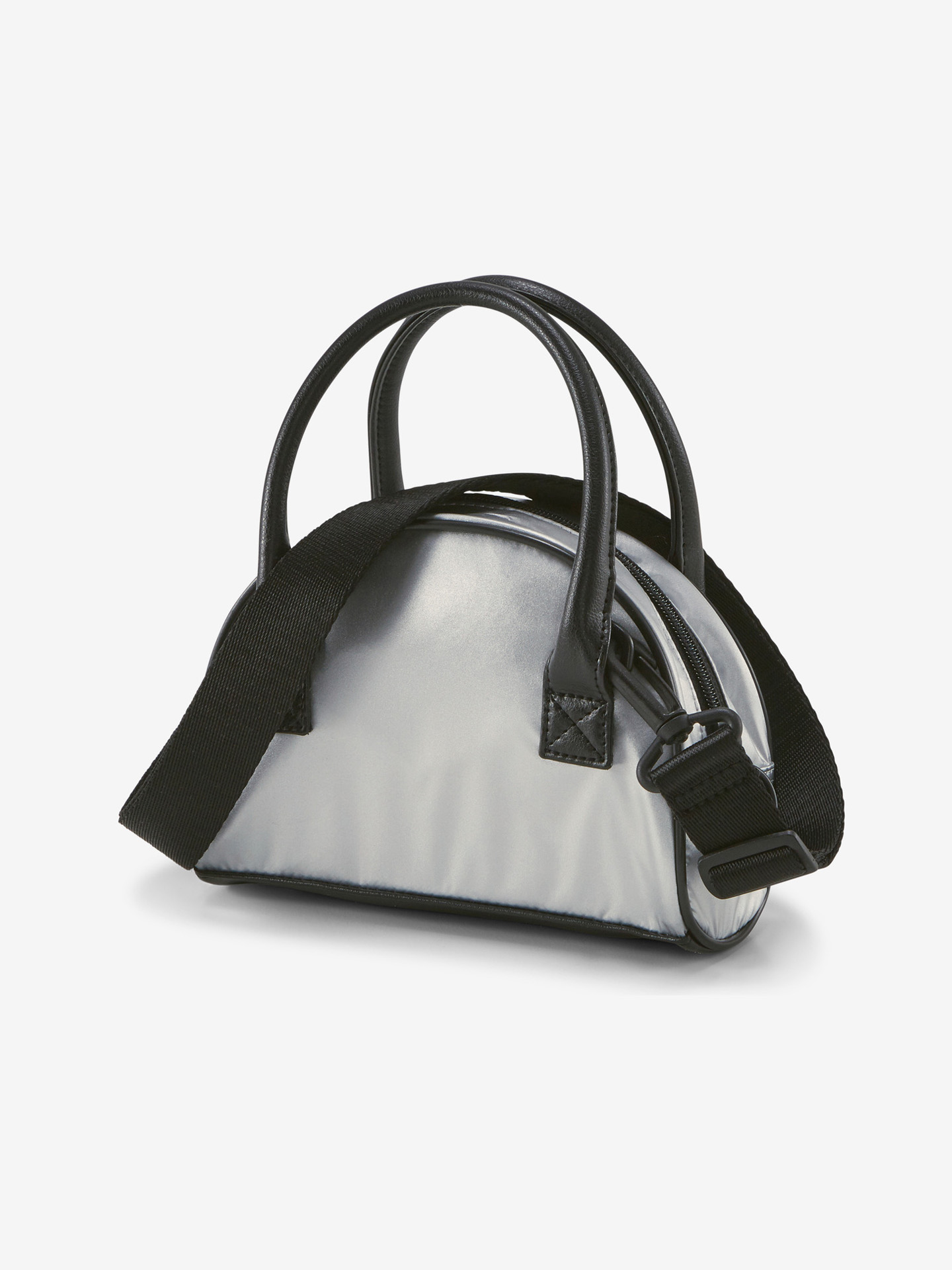 Puma stříbrné kabelka Prime Time Mini Grip