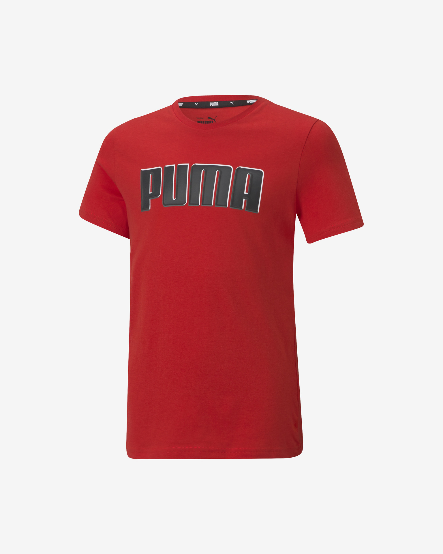 Puma Alpha Graphic Triko dětské Červená