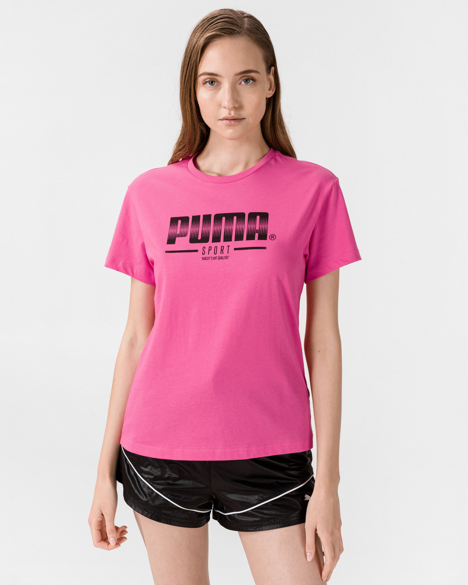 Puma růžové dámské tričko