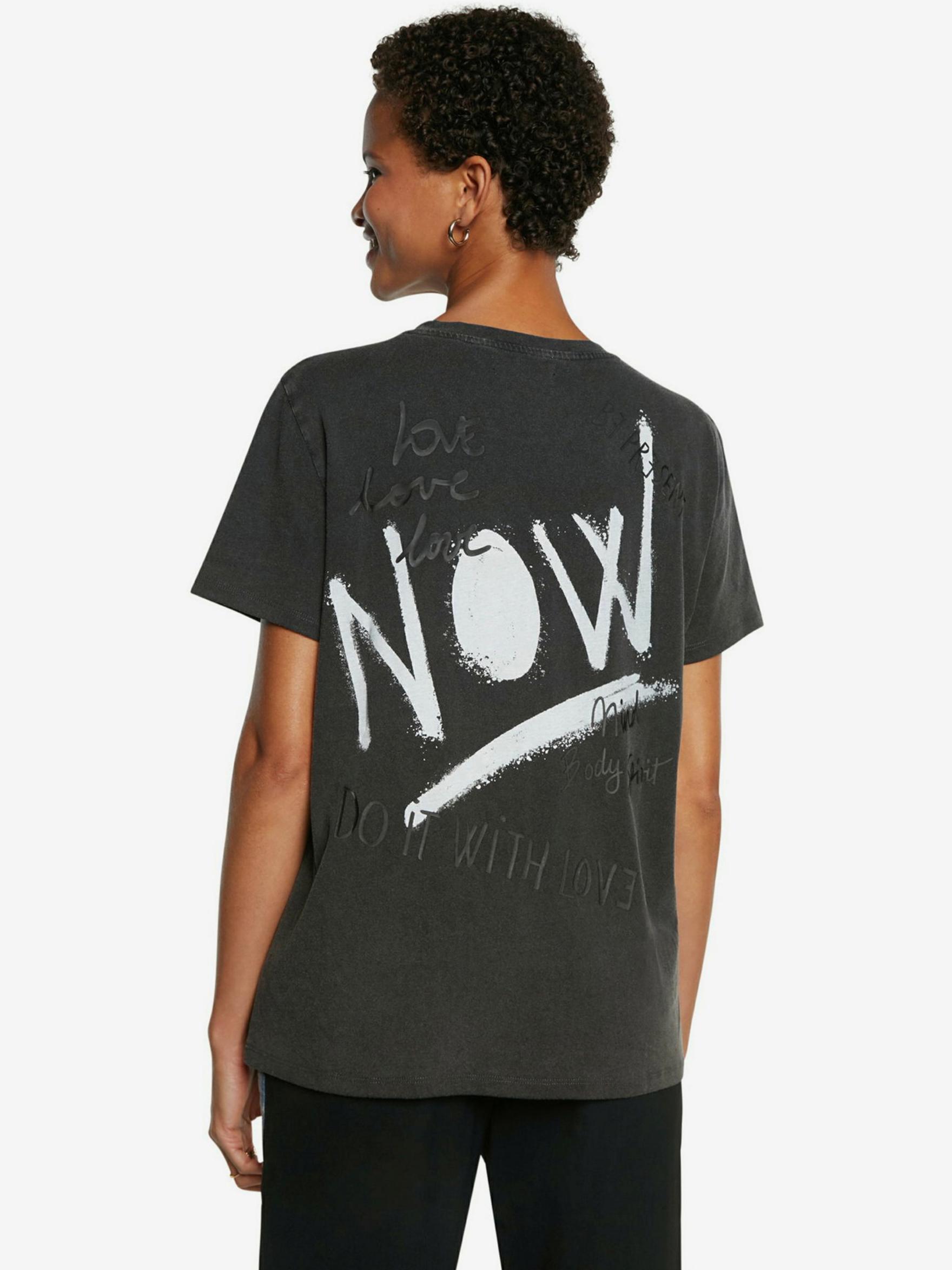 Desigual šedé tričko Future