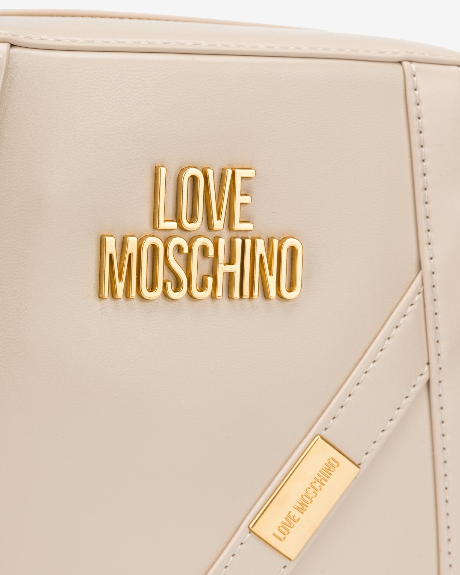 Love Moschino béžové crossbody kabelka