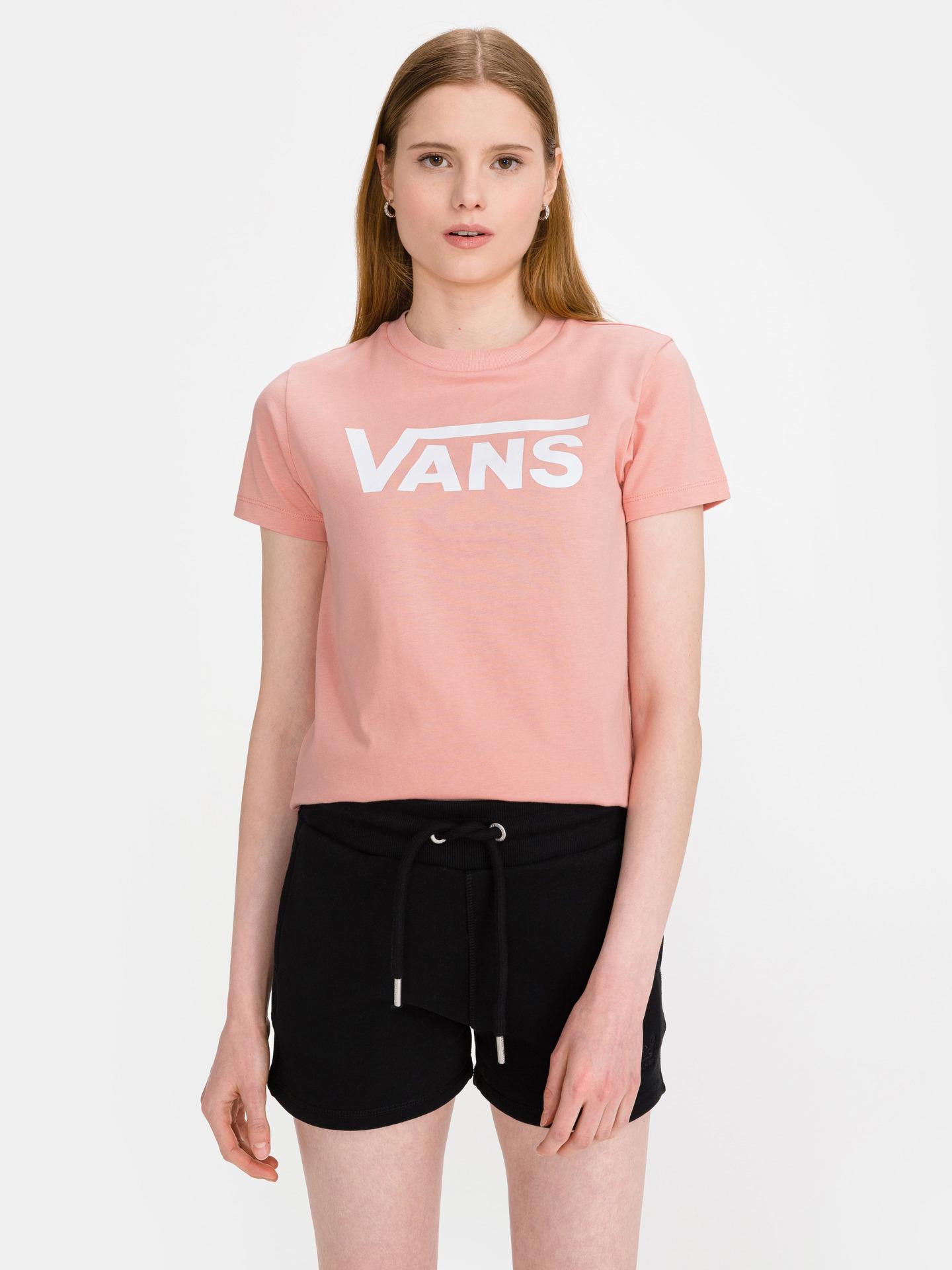 Vans růžové tričko Flying V