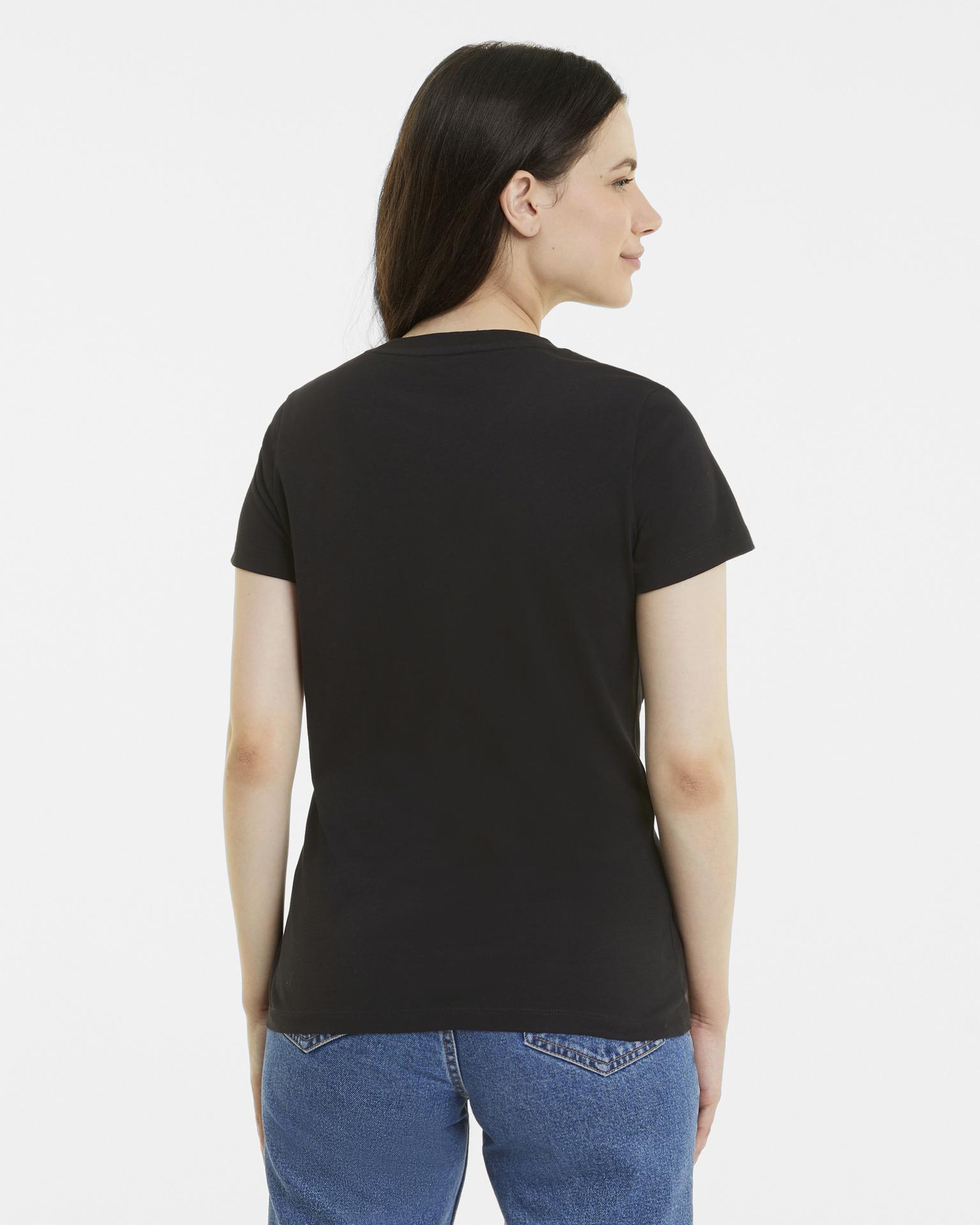 Puma černé dámské tričko Classics Logo