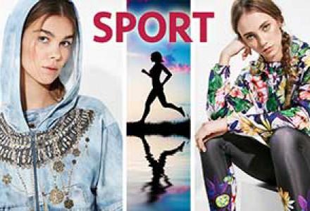 Nová sportovní kolekce Desigual vás vyzývá k plnění novoročních předsevzetí!