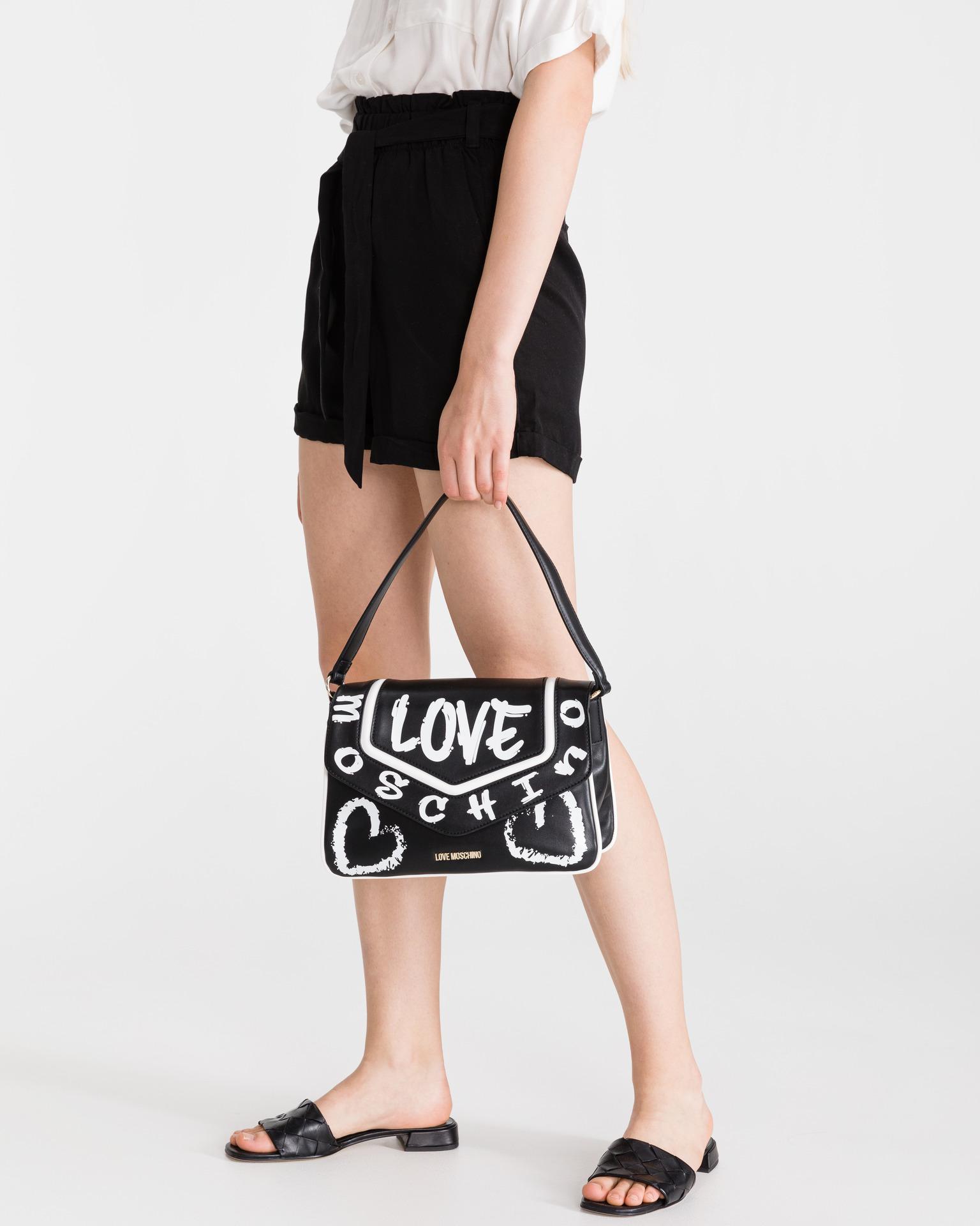 Love Moschino černé kabelka