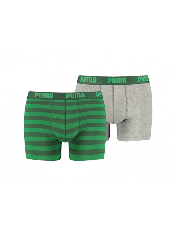 Puma zelený 2 pack boxerek - M