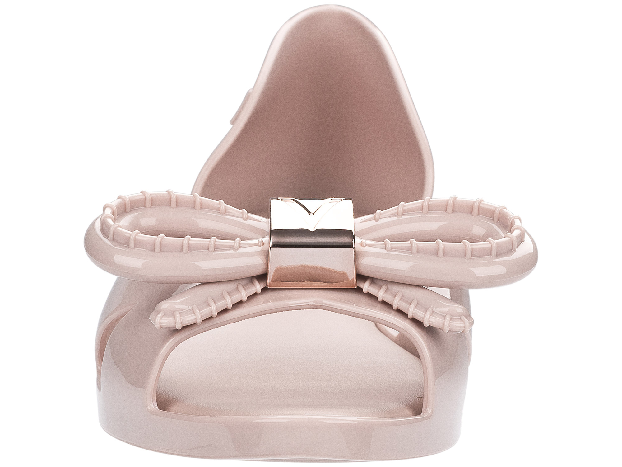 Melissa pudrové sandály Seduction + Vitorino Light Pink