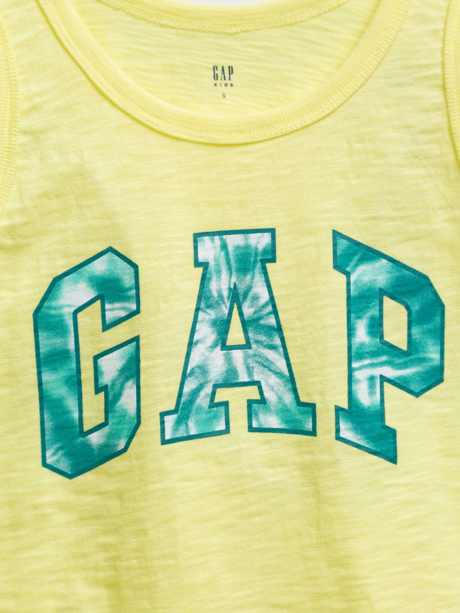 GAP Tílko dětské Žlutá