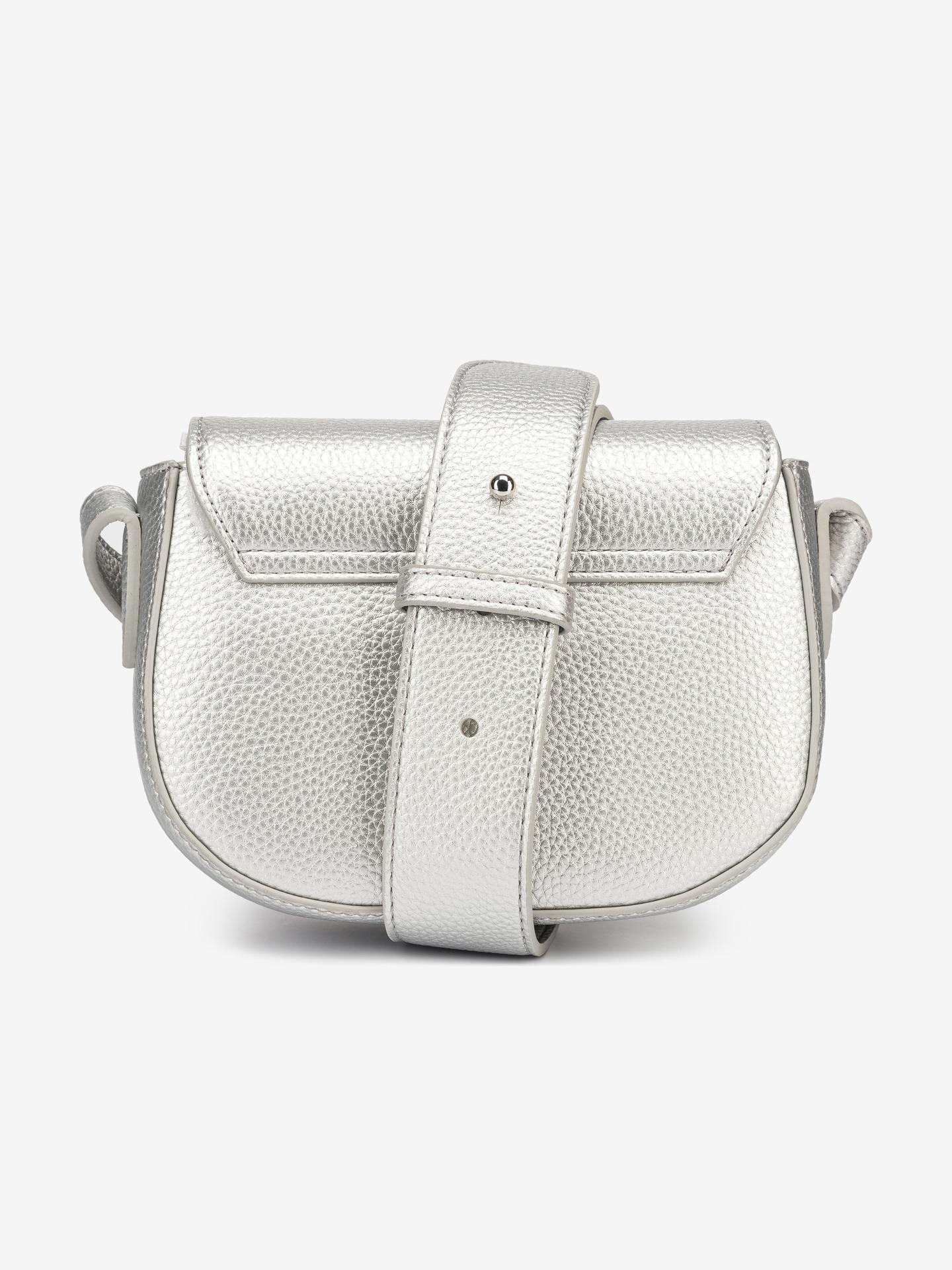 Armani Exchange stříbrné kabelka
