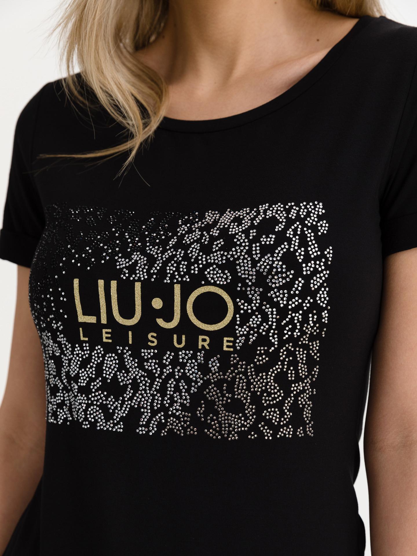 Liu Jo černé dámské tričko