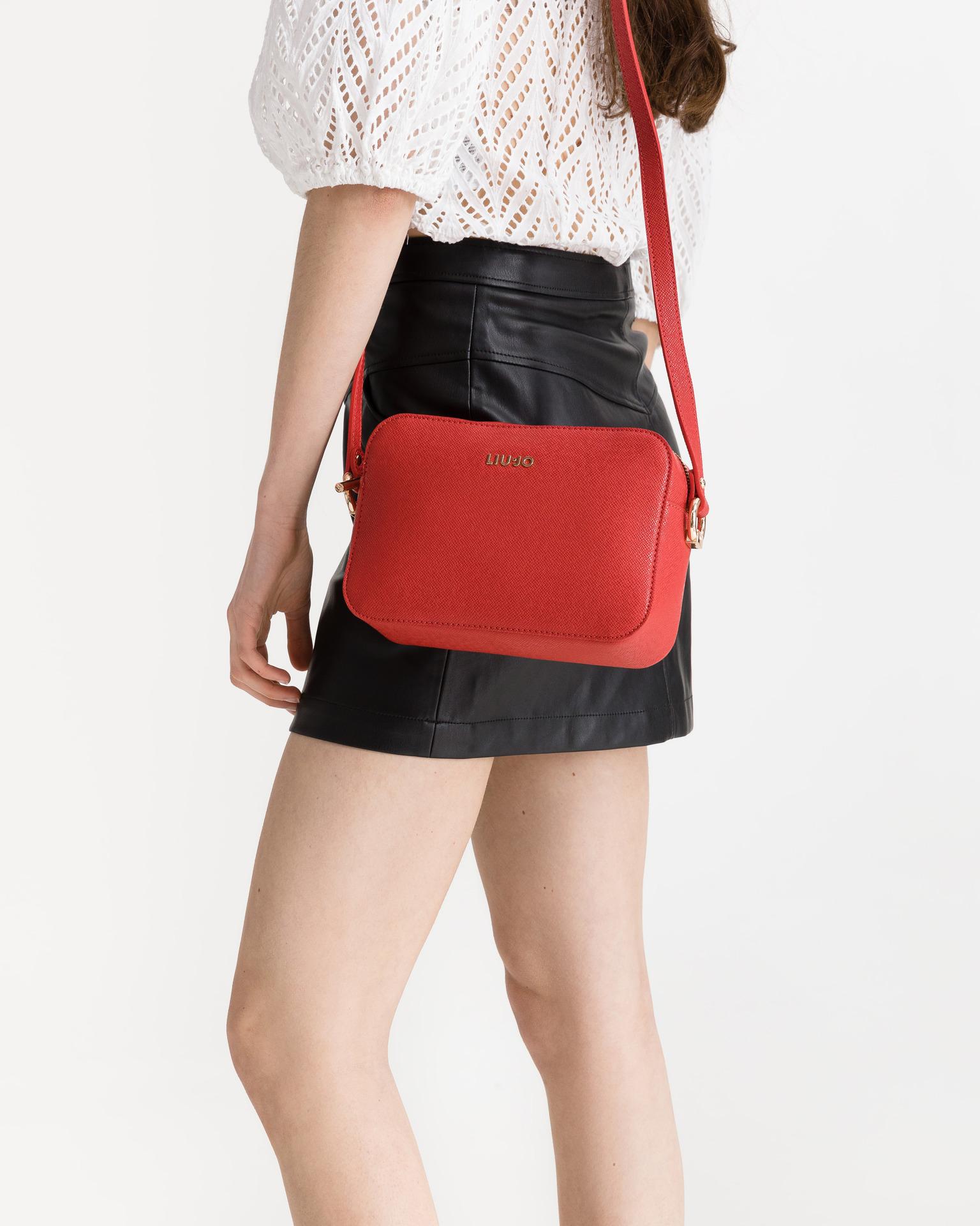 Liu Jo červené crossbody taška
