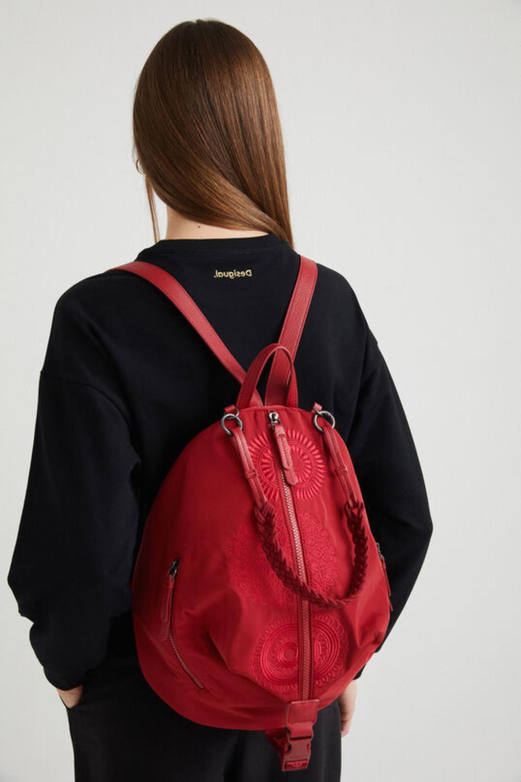 Desigual červené batoh Mandarala Viana