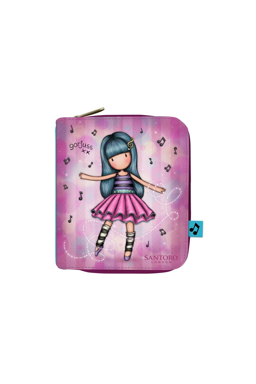 Santoro růžové peněženka Gorjuss Dancing Among The Stars