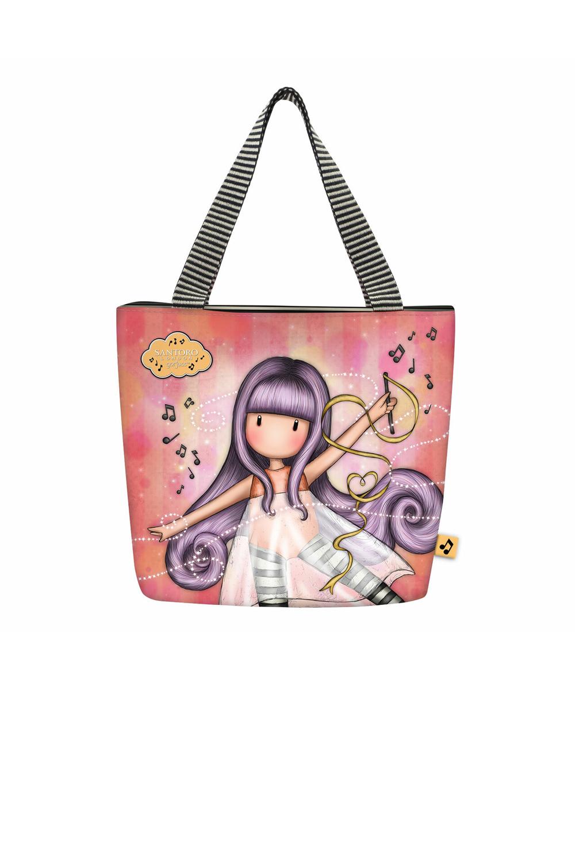 Santoro lososové obědová taška Gorjuss Little Dancer