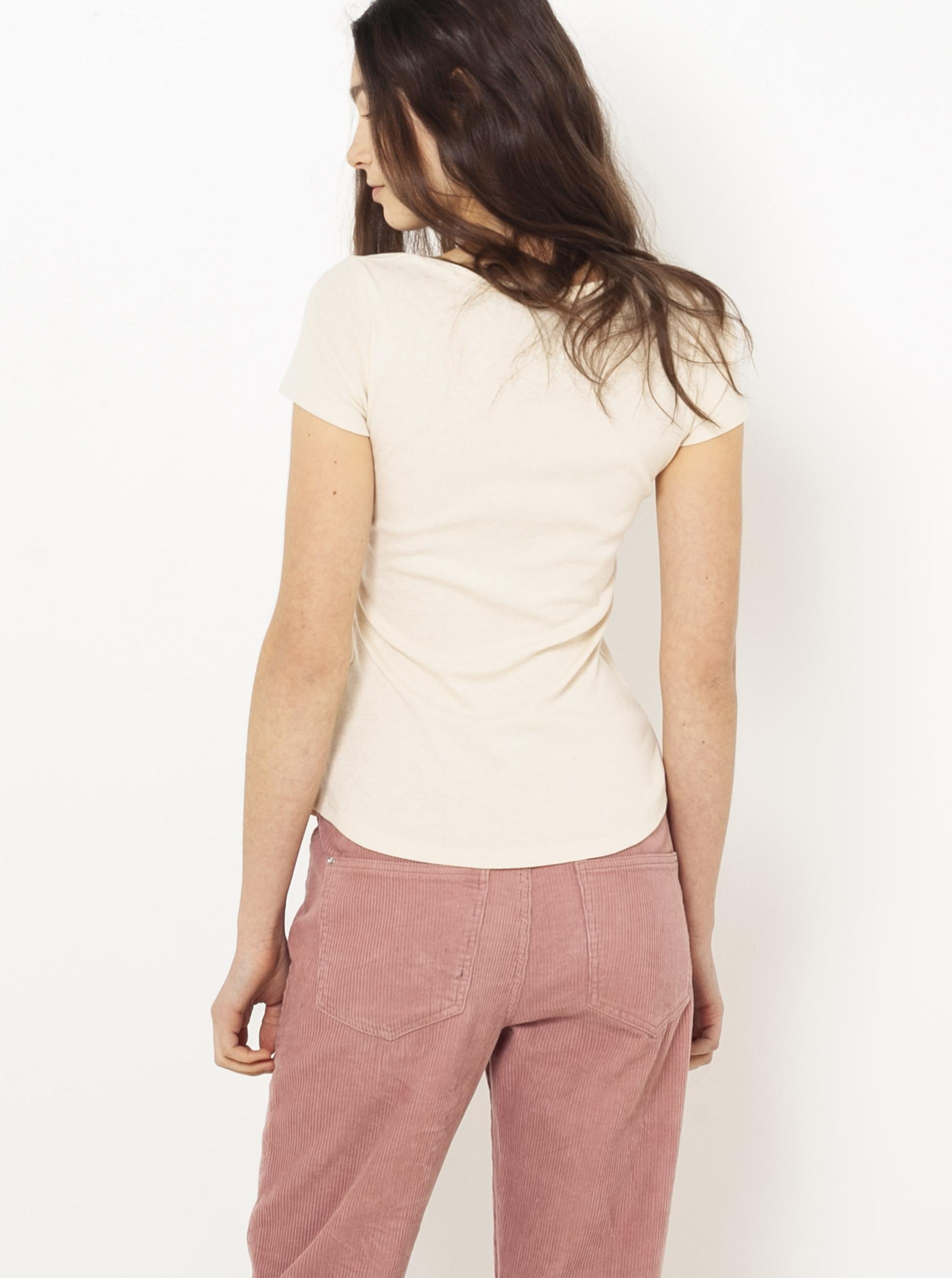 Tělové basic tričko CAMAIEU