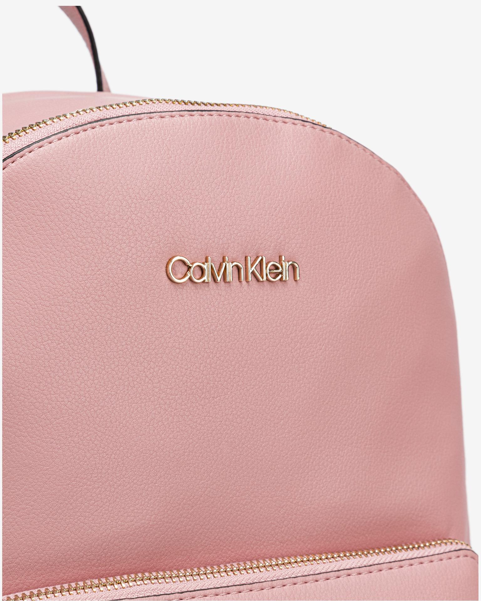 Calvin Klein růžové batoh Campus Medium