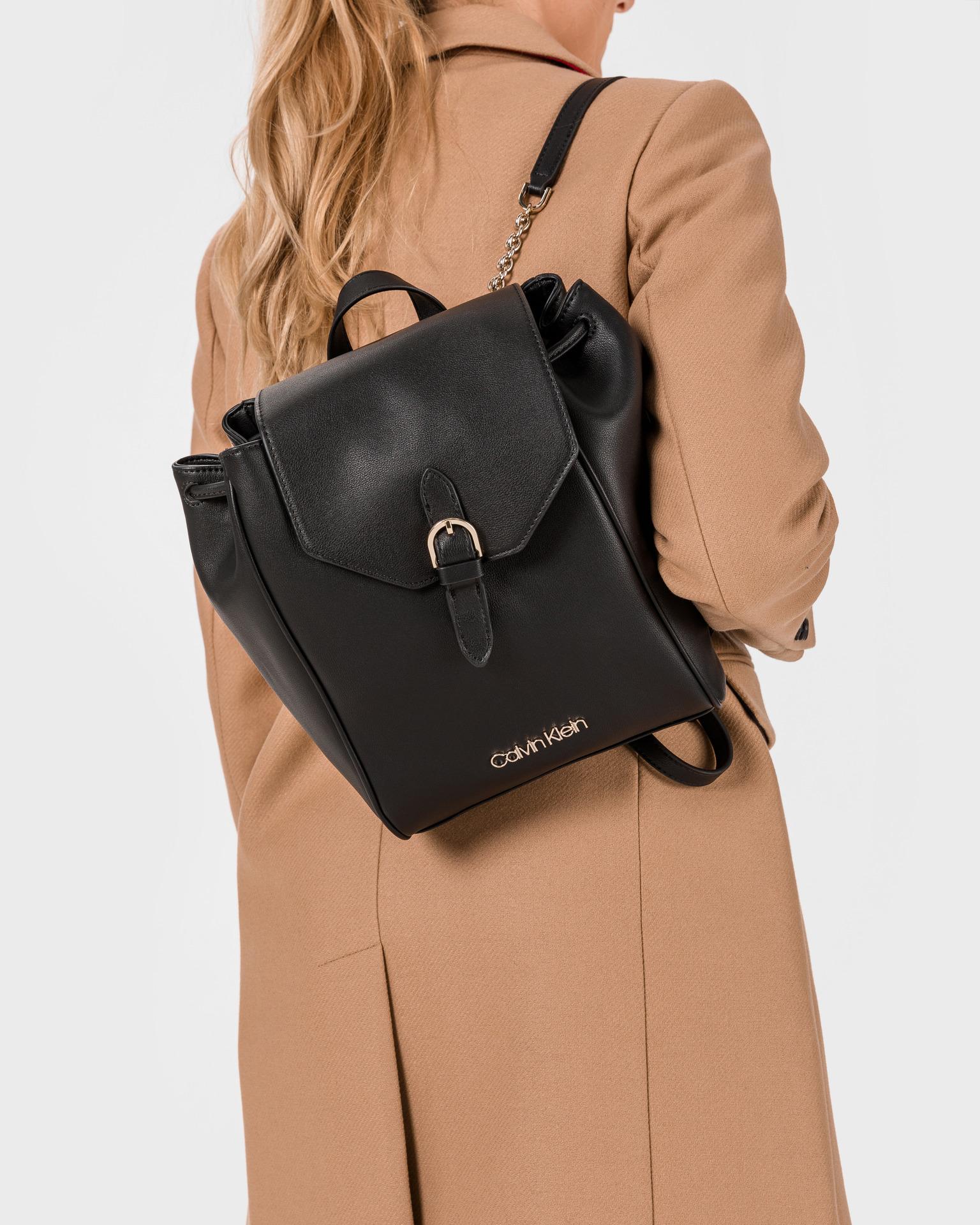 Calvin Klein černý batoh Drawstring