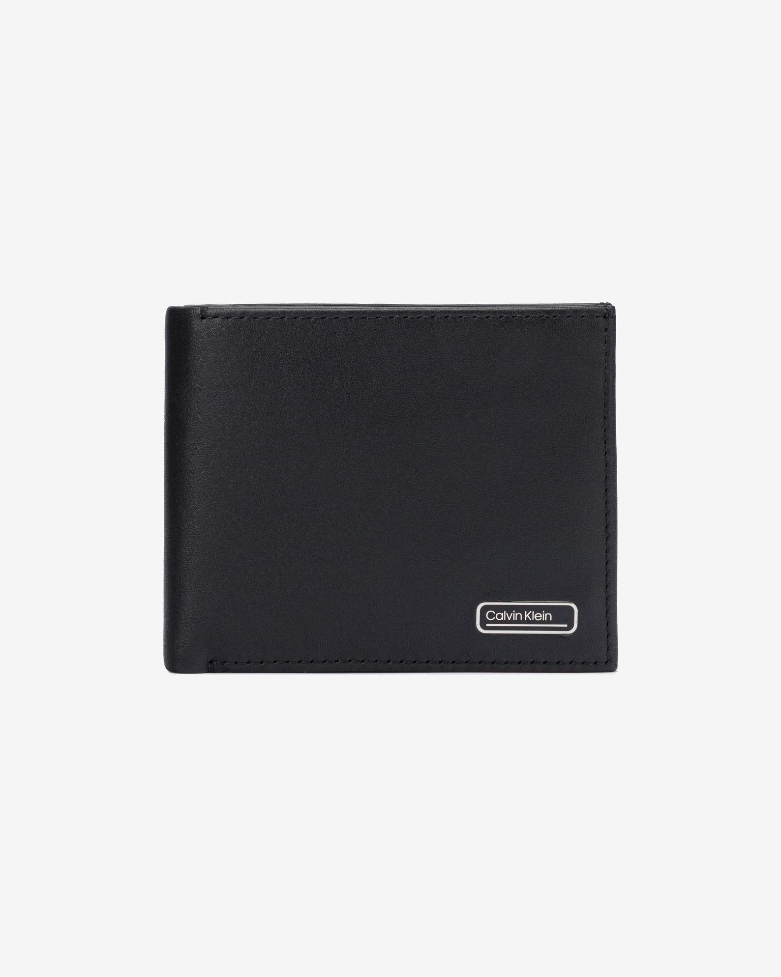 Calvin Klein černé peněženka Billfold