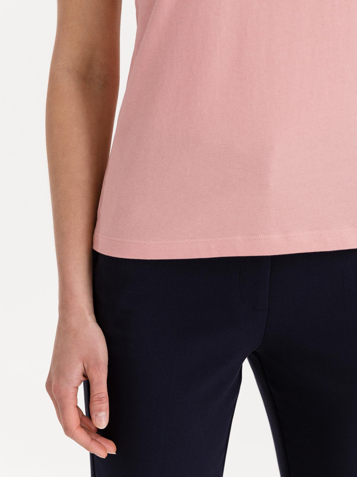 Tommy Hilfiger růžové dámské tričko