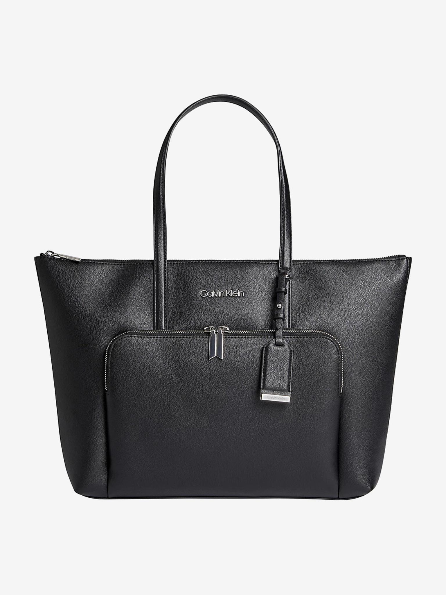 Calvin Klein černý shopper Must