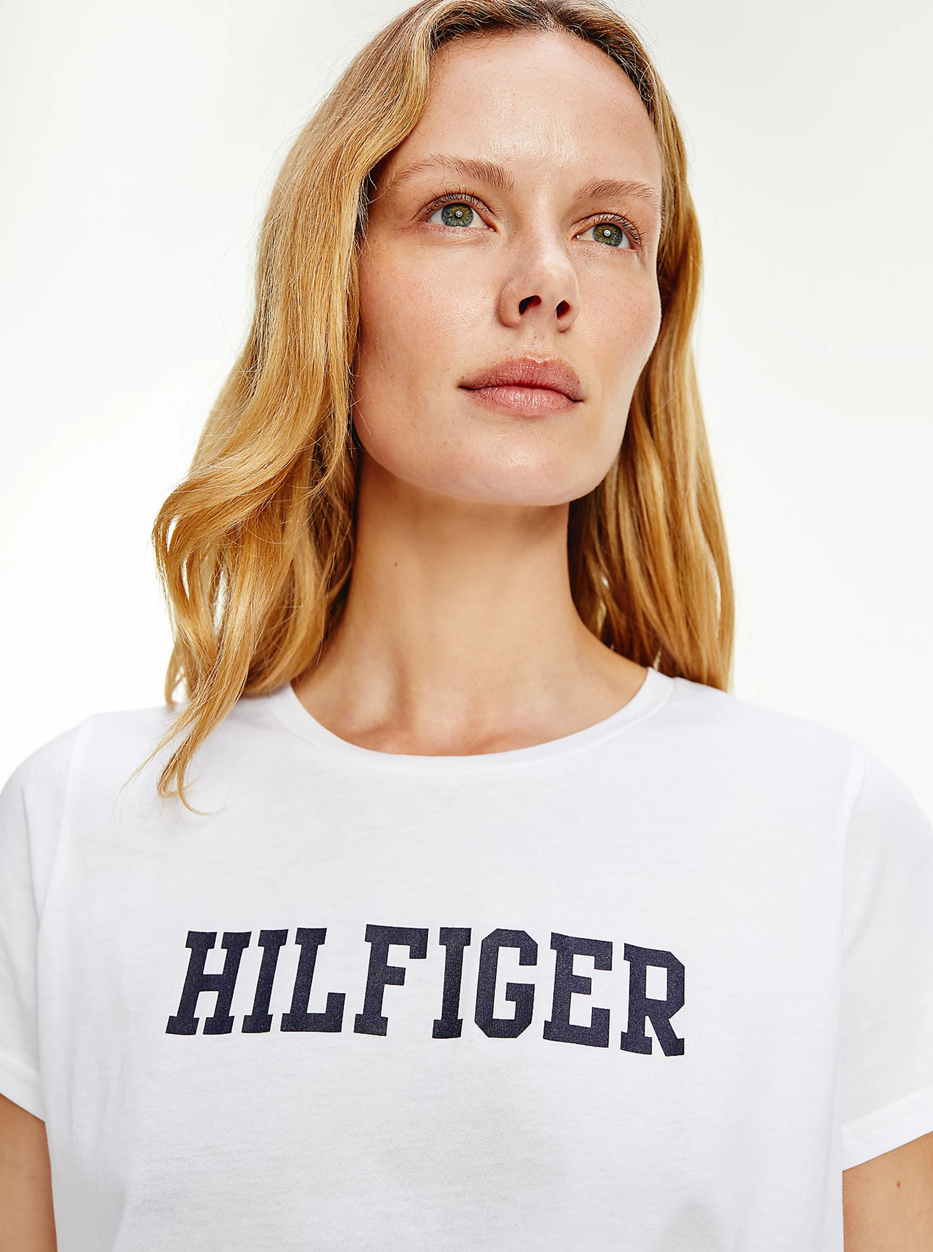 Tommy Hilfiger bílé tričko s logem