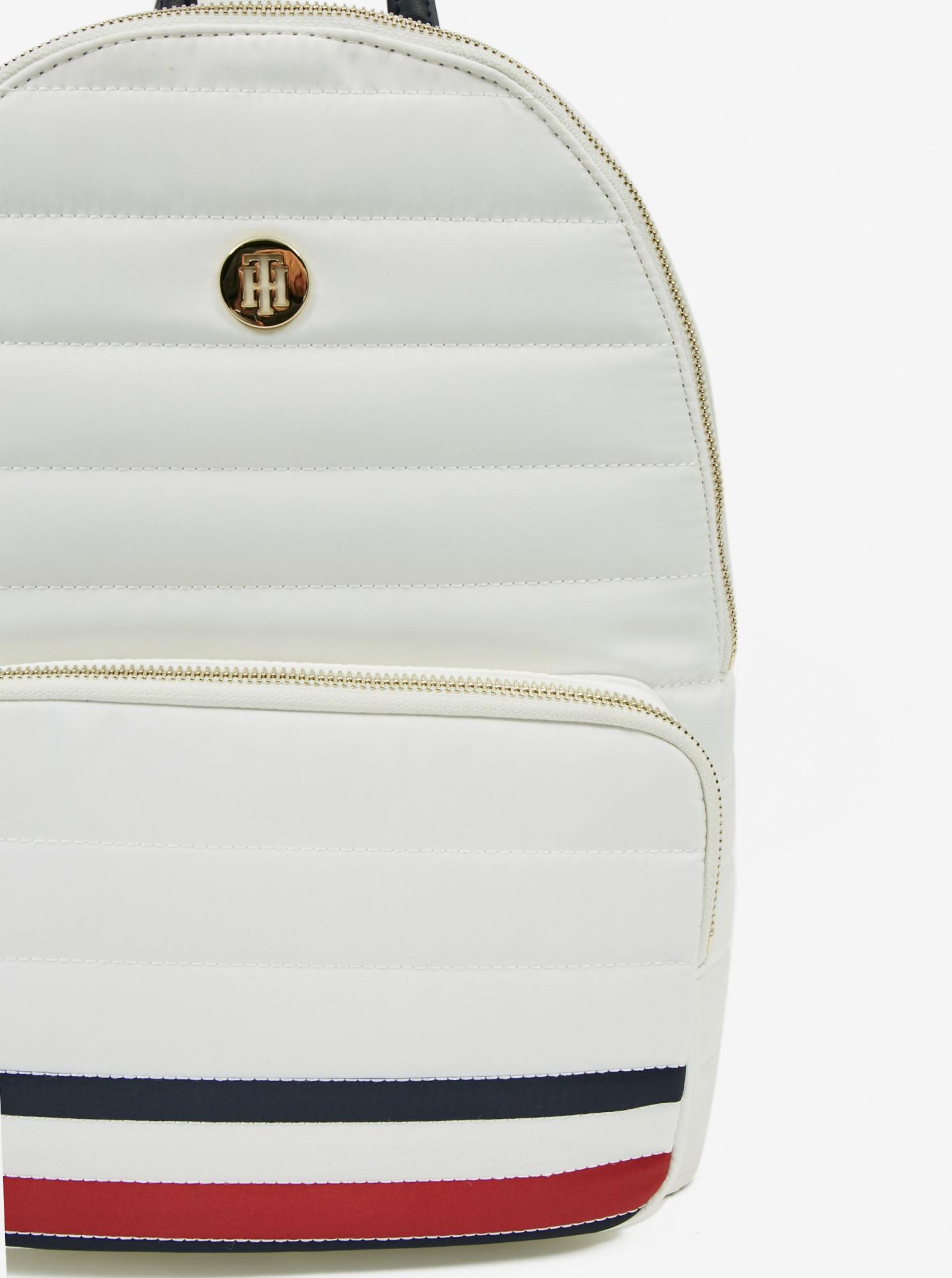 Tommy Hilfiger bílý batoh