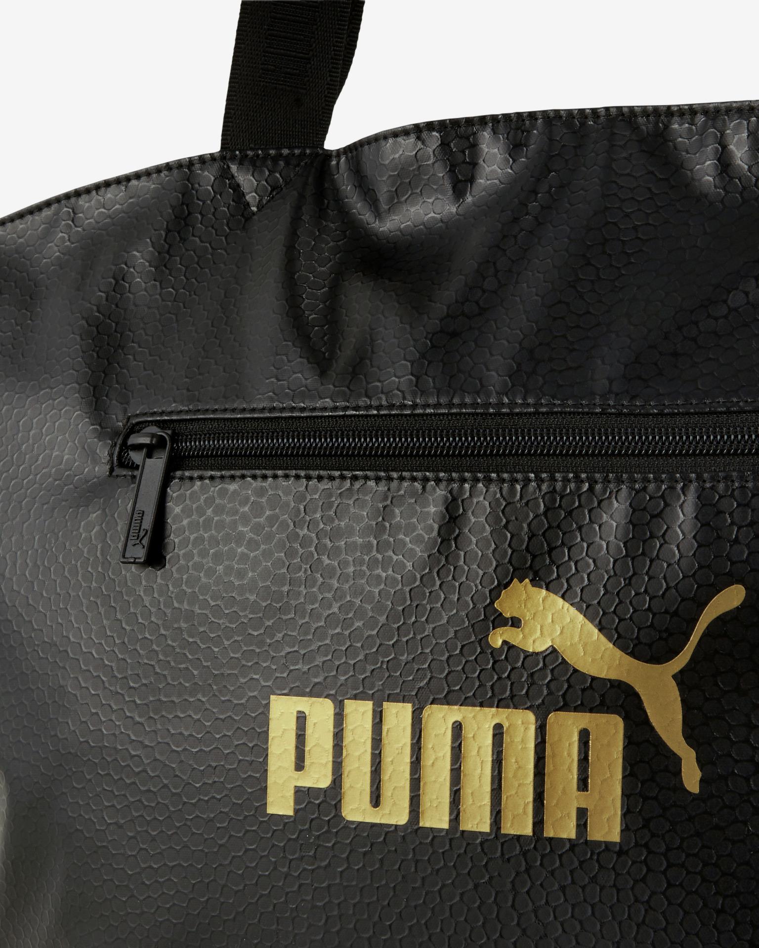 Puma Core Up Large OS Shopper taška Černá