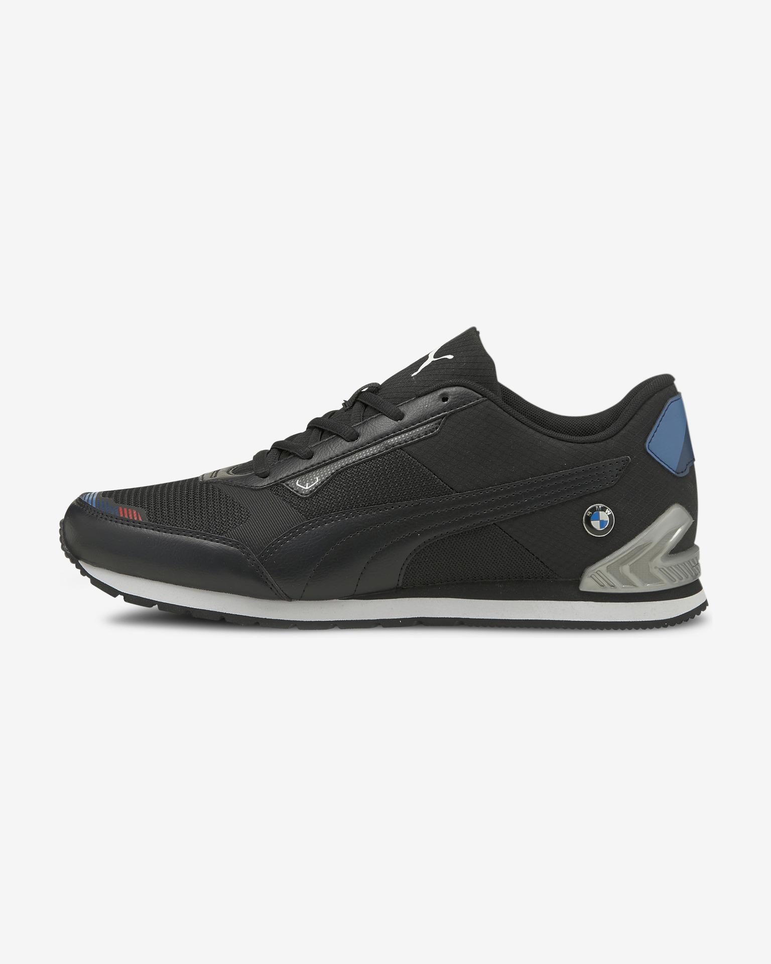 Puma černé pánské tenisky BMW MMS Track - 44