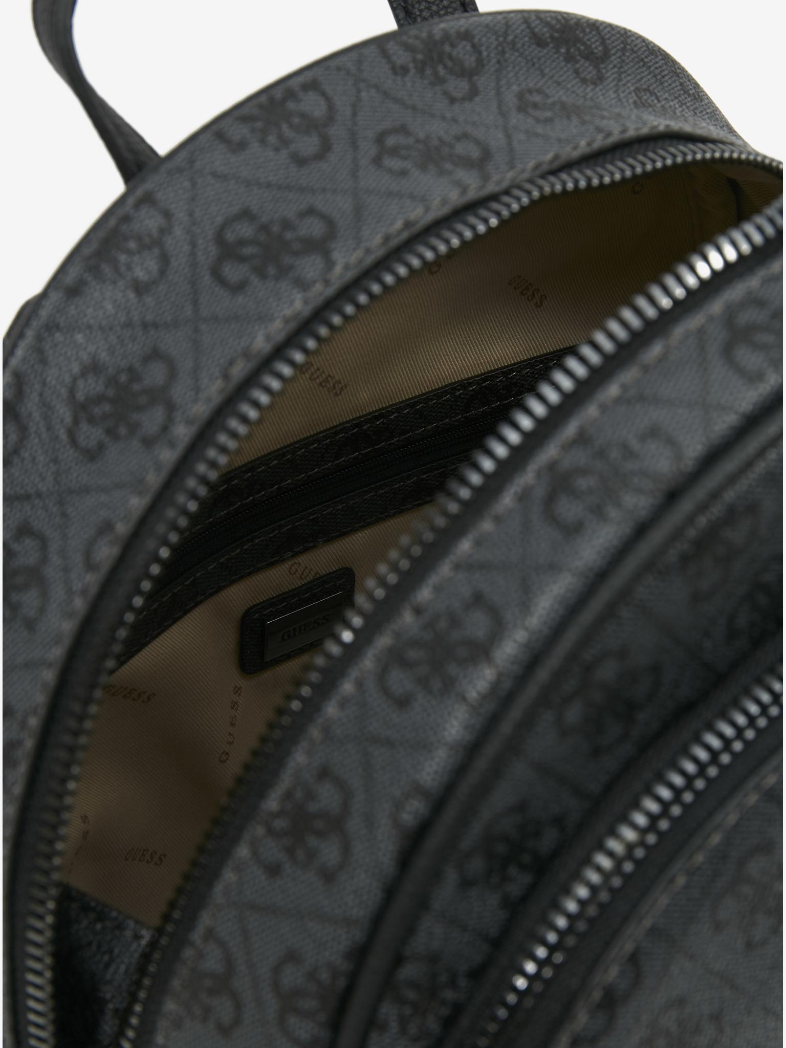 Guess černé batoh Manhattan Large