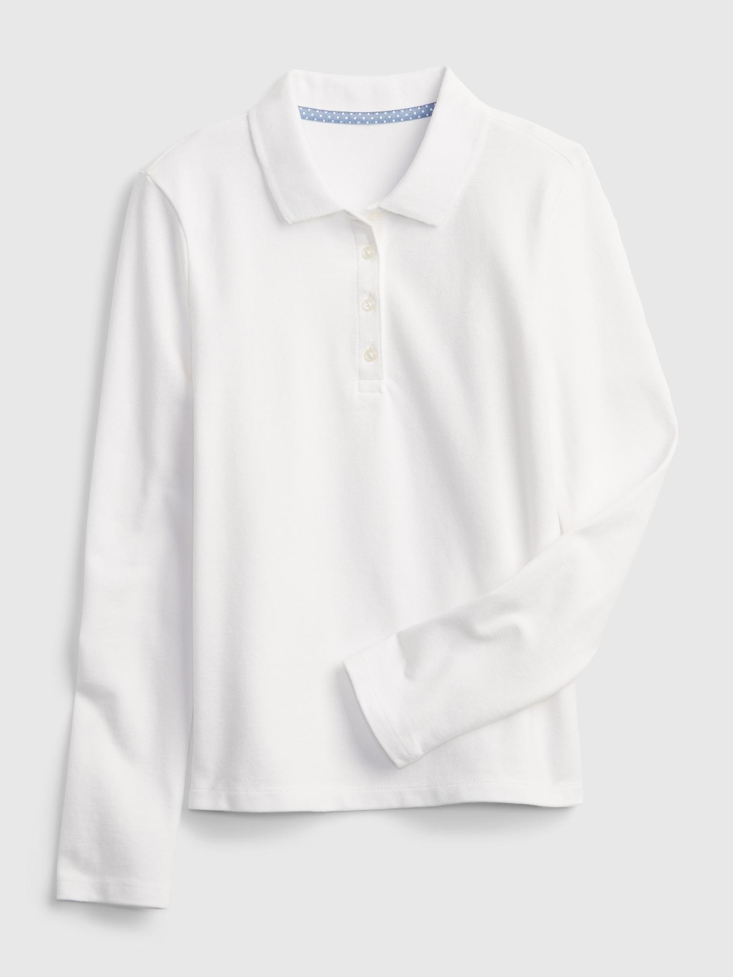 GAP Update Polo triko dětské Bílá