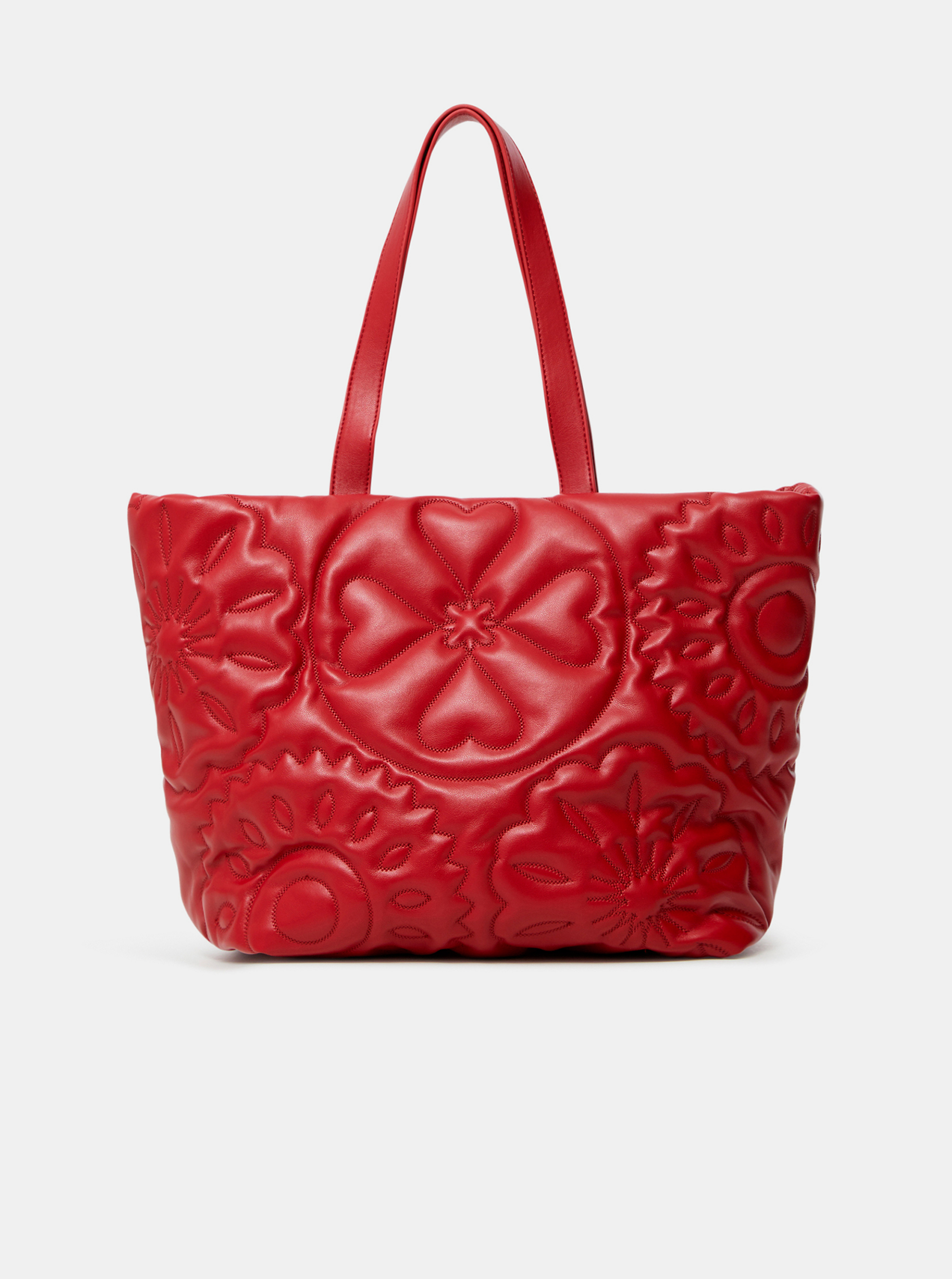 Desigual červené kabelka Big Big Bombay