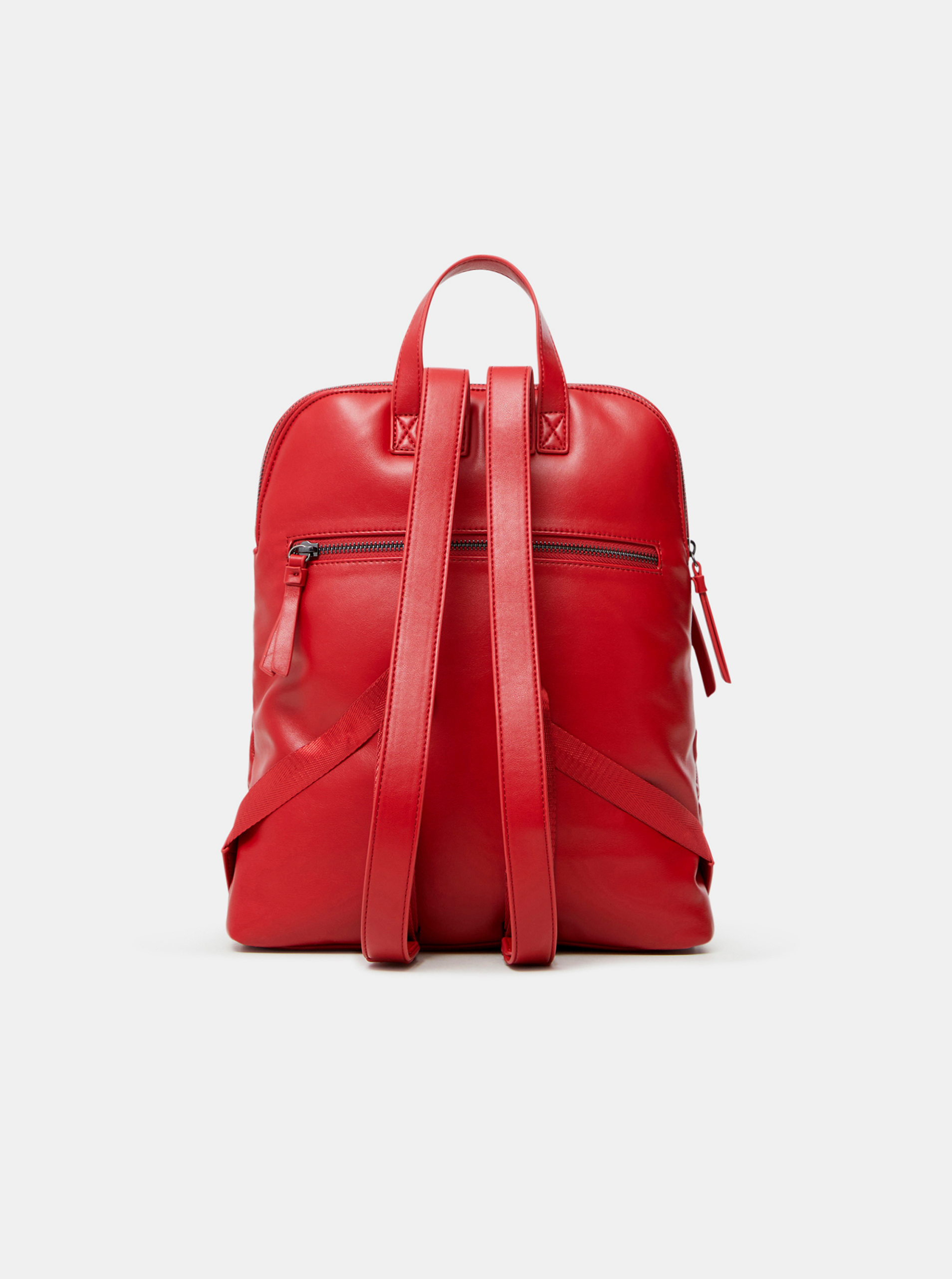 Desigual červené batoh Bibi Big Nanaimo