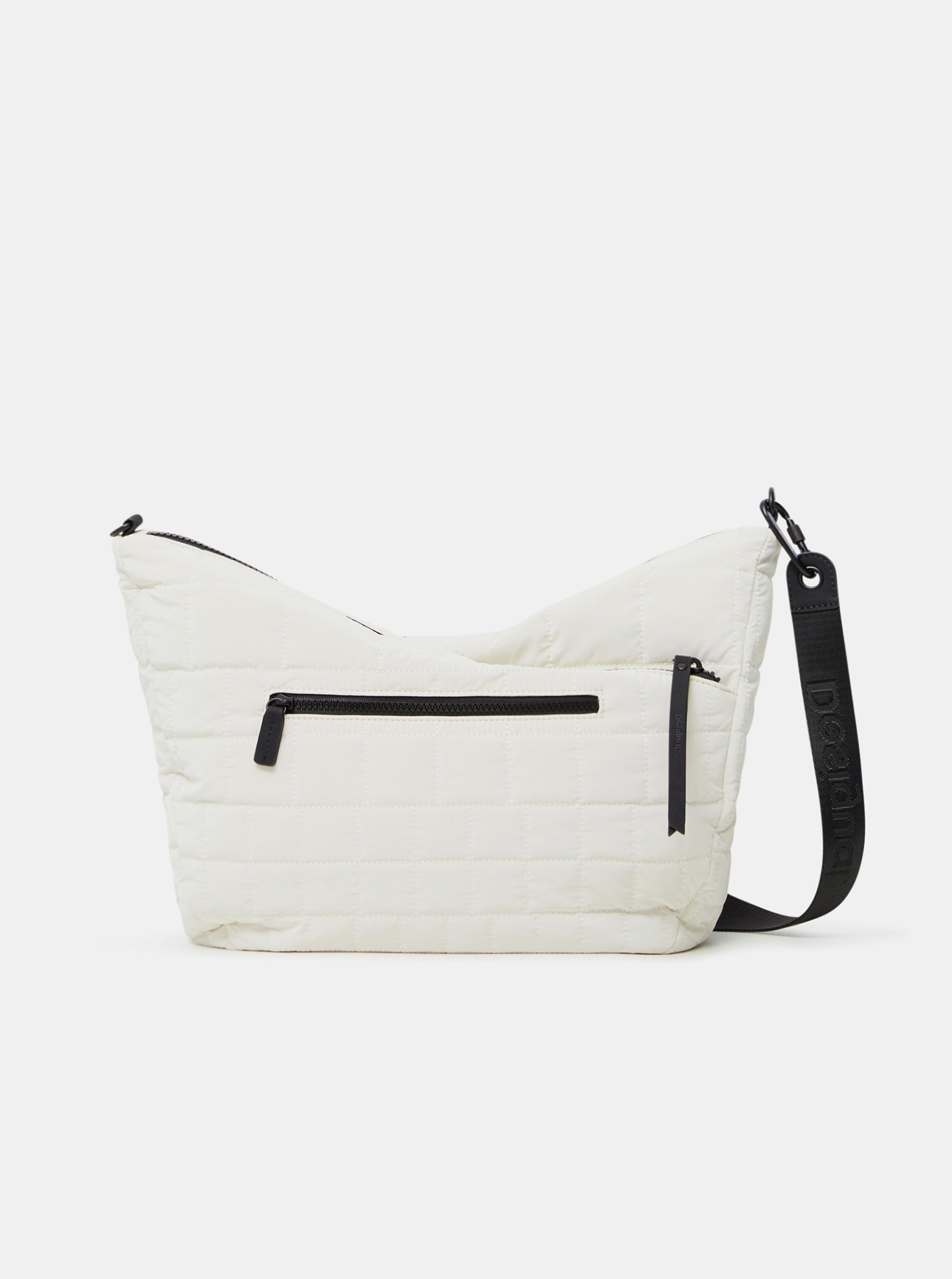 Desigual bílé kabelka COcoa Harry 2.0 Maxy