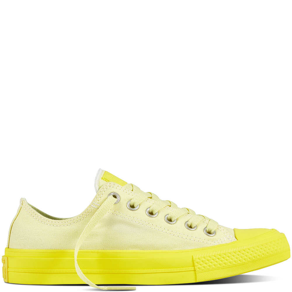 Converse žluté tenisky Chuck Taylor All Star II OX Lemon Hase/Fresh Yellow - 36