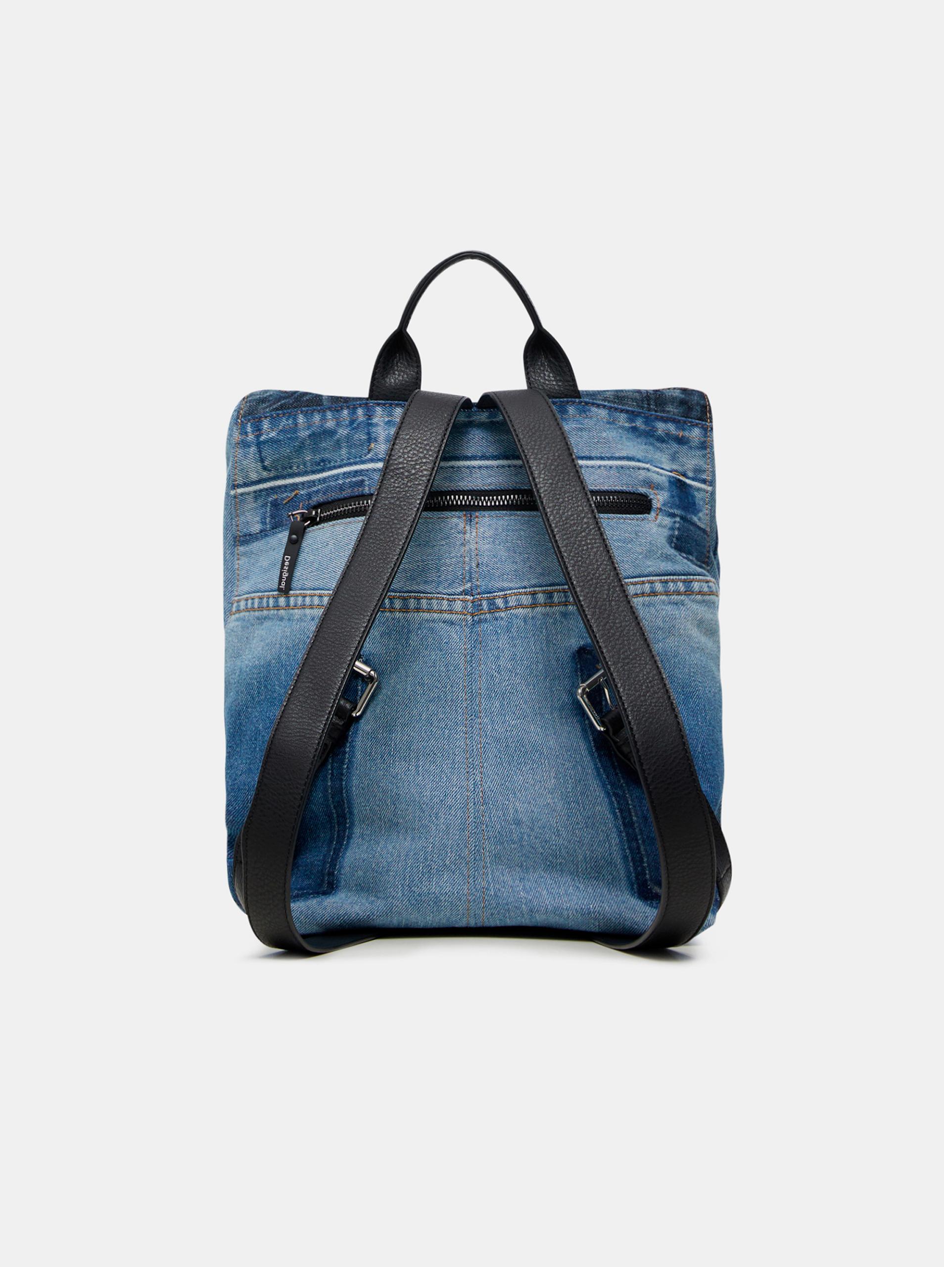 Modrý dámský batoh Desigual Denim Patch Nerano
