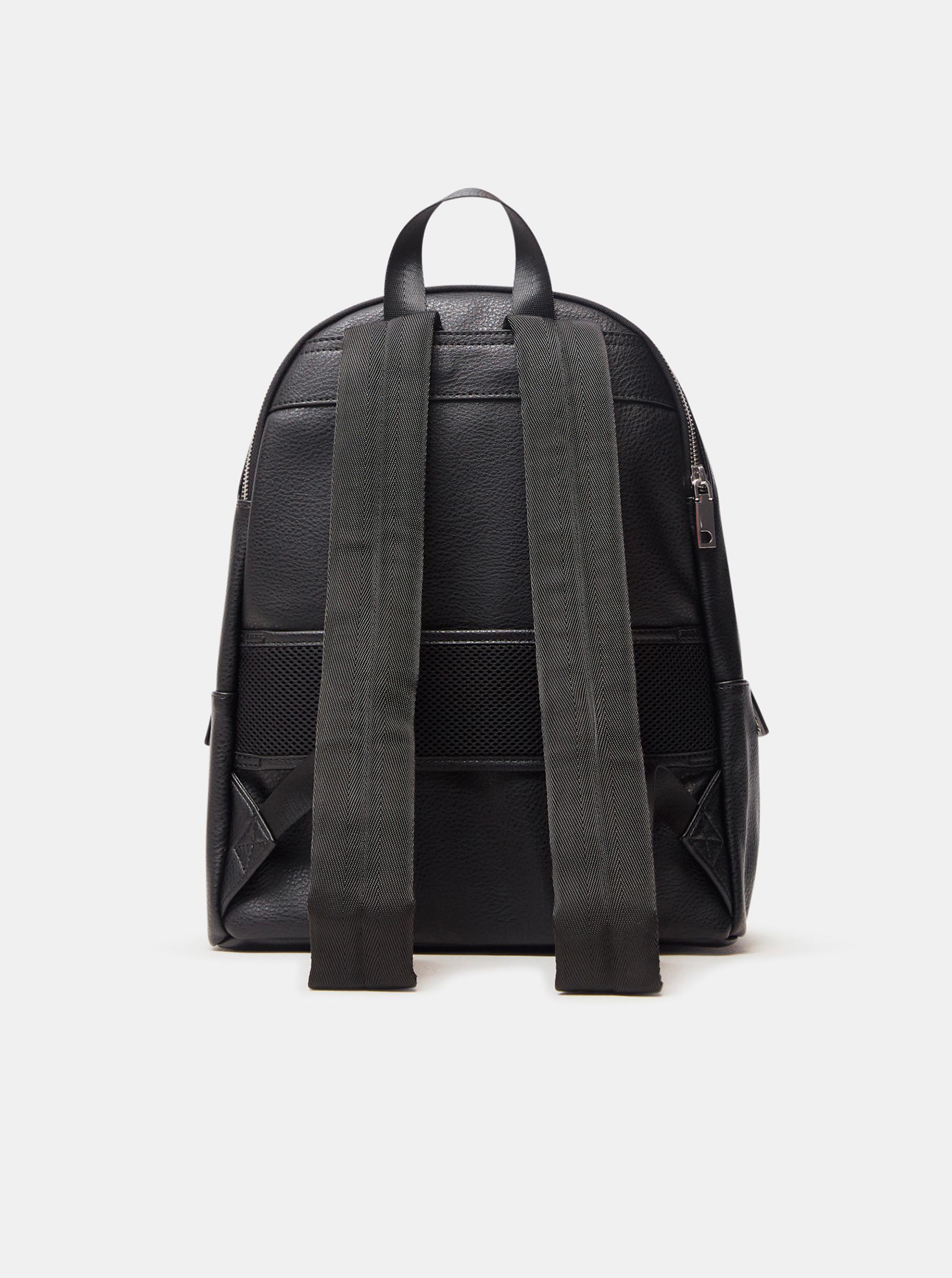 Černý dámský batoh s motivem Desigual Mickey Mombasa 2zippers