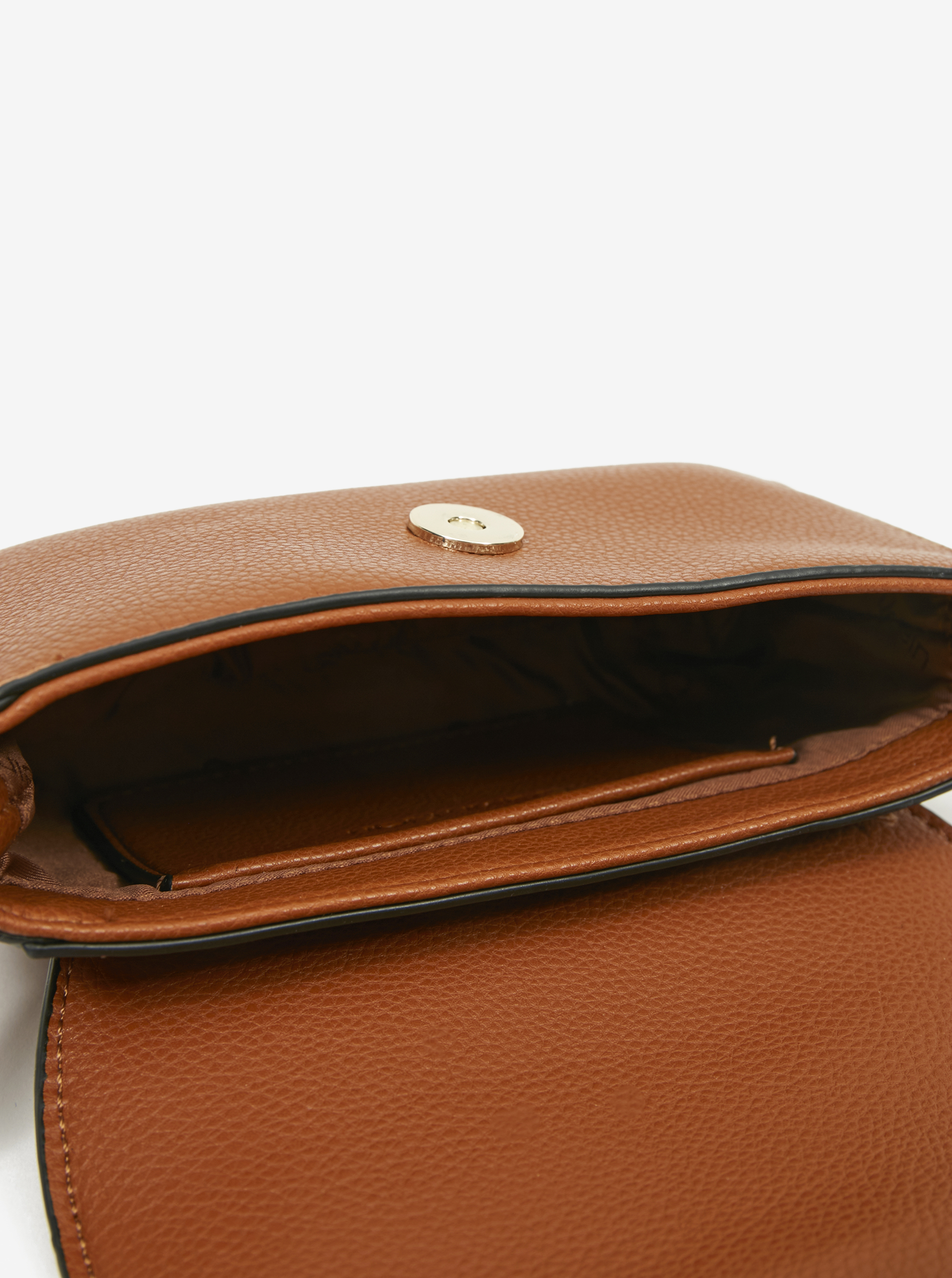 Calvin Klein hnědá crossbody kabelka