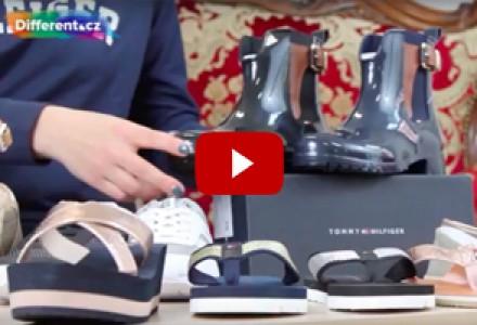Stylové boty Tommy Hilfiger