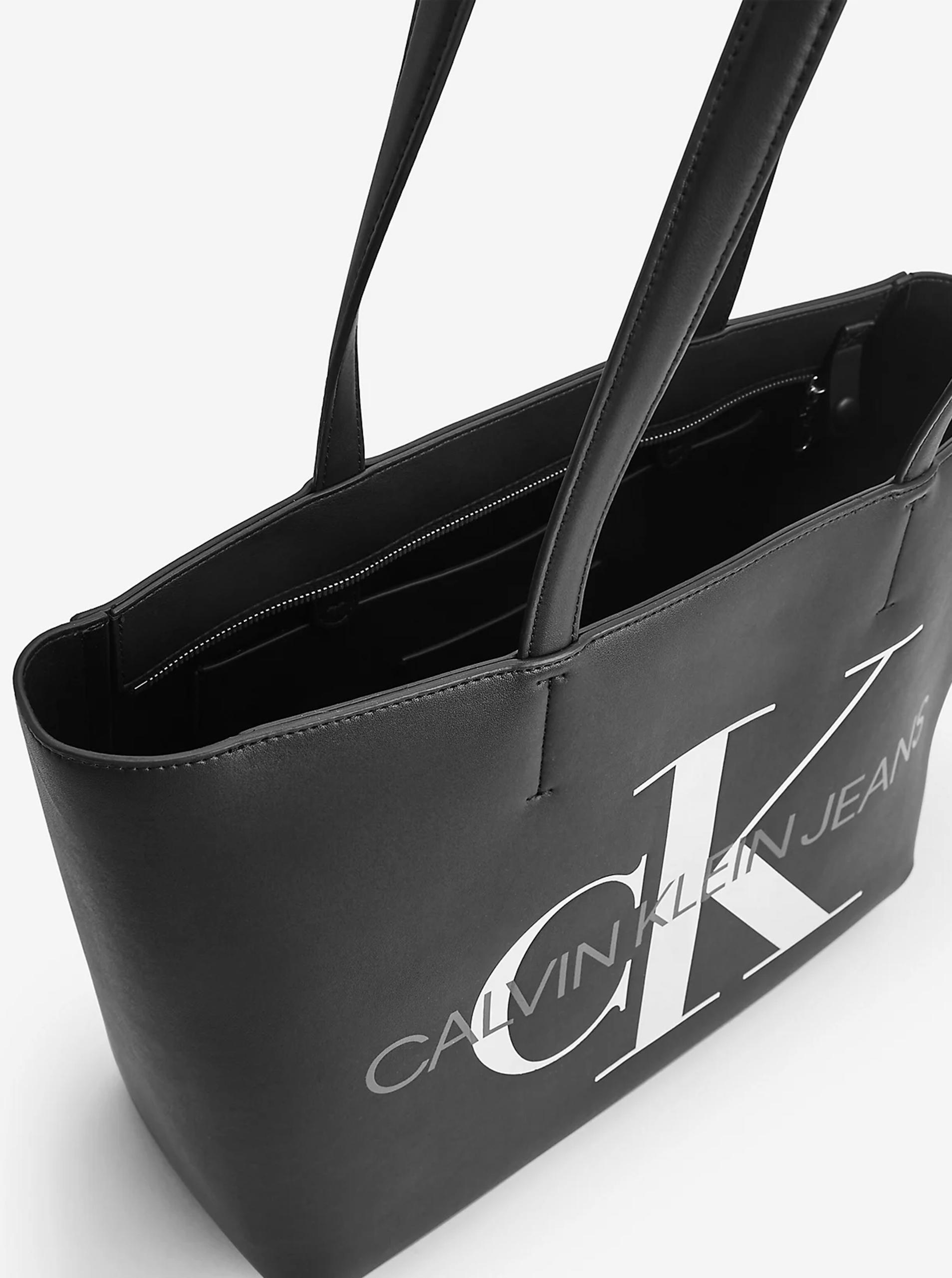 Calvin Klein černý shopper