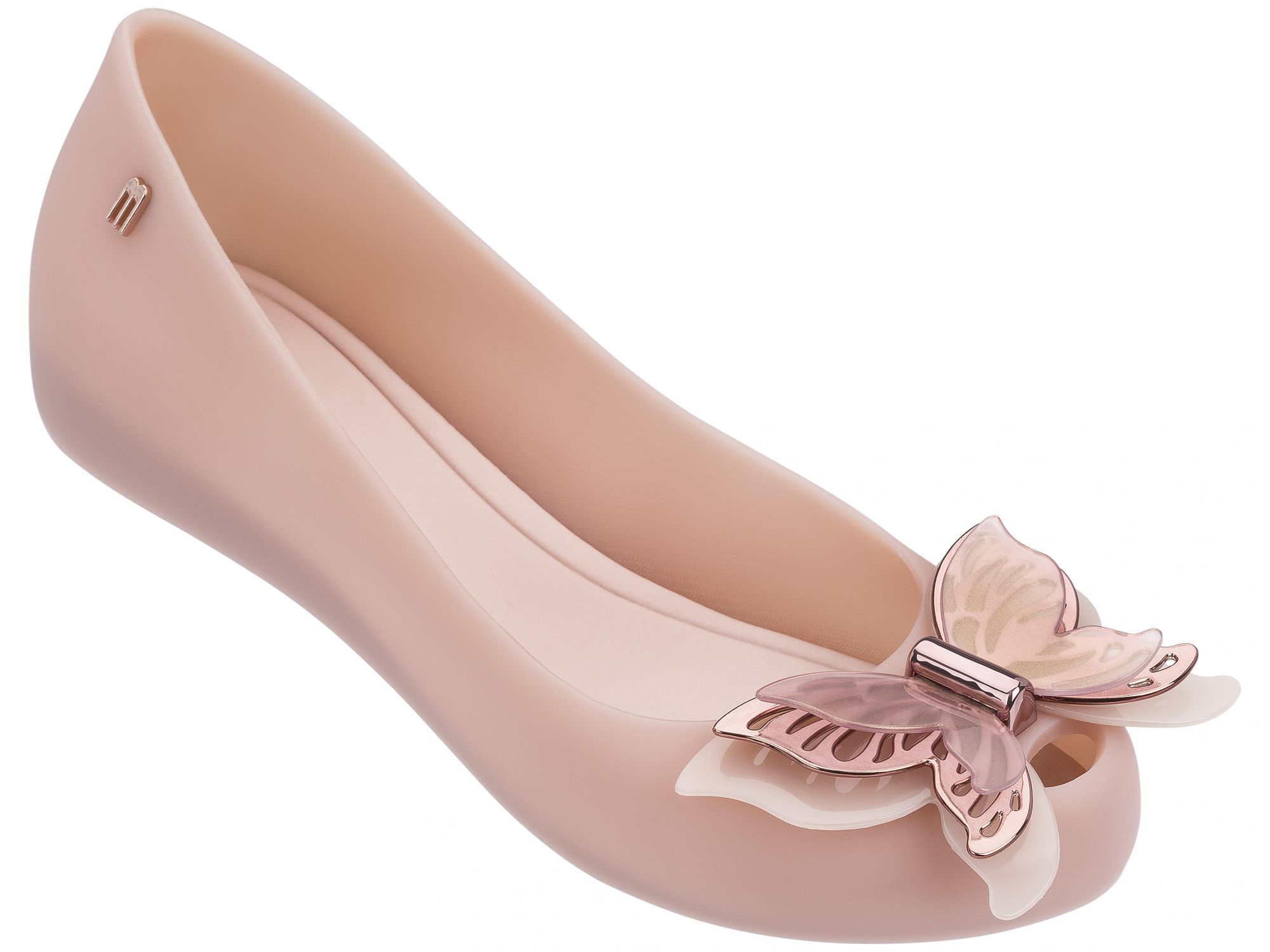 Melissa pudrové baleríny Ultragirl Fly Light Pink