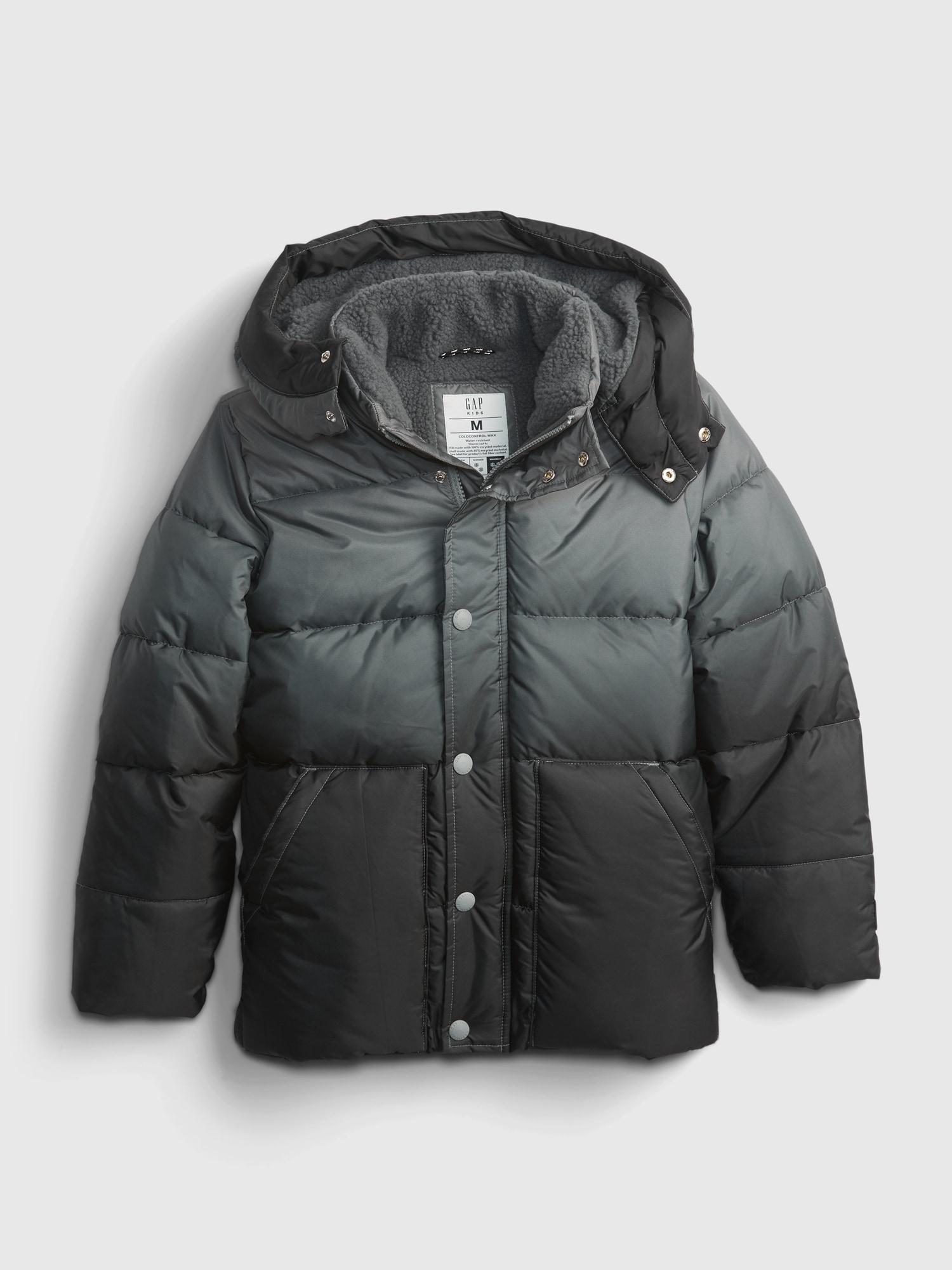Šedá klučičí bunda zimní prošívaná GAP - 158