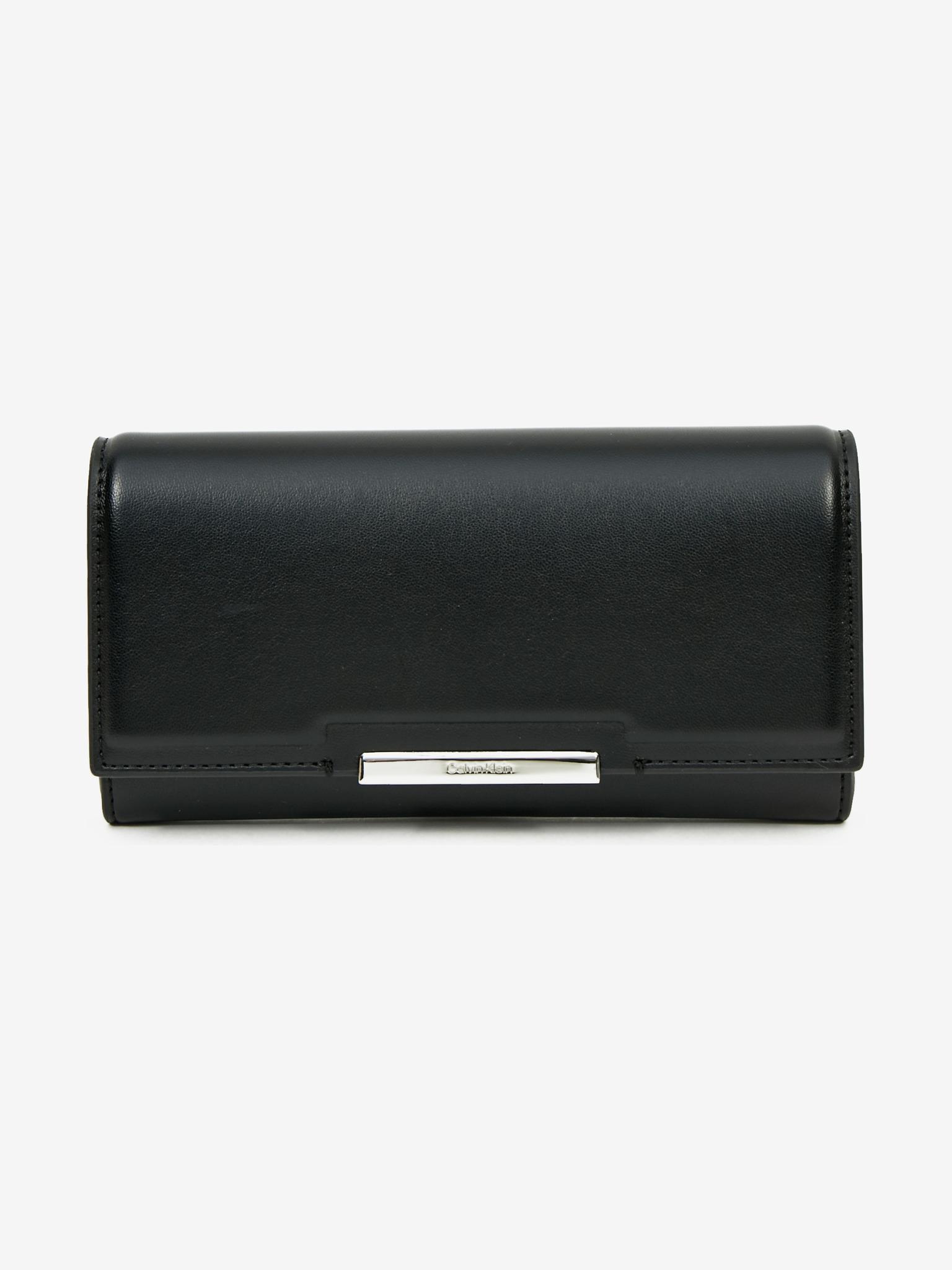 Calvin Klein černá peněženka Trifold Large