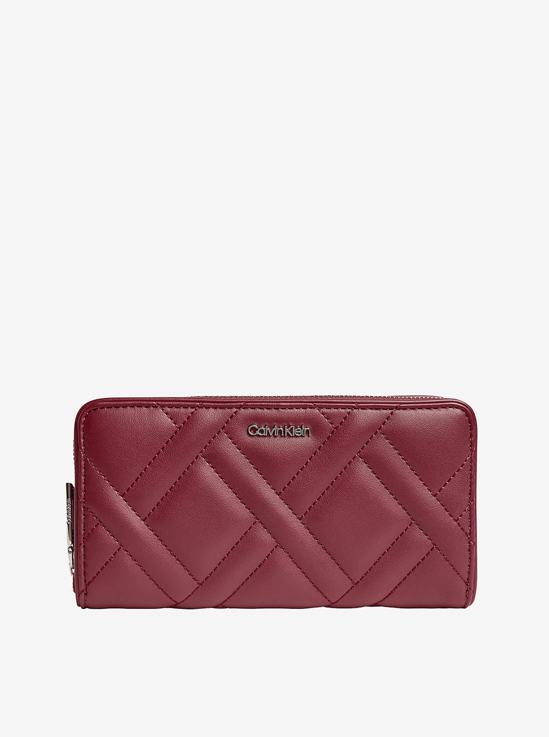 Calvin Klein vínová peněženka