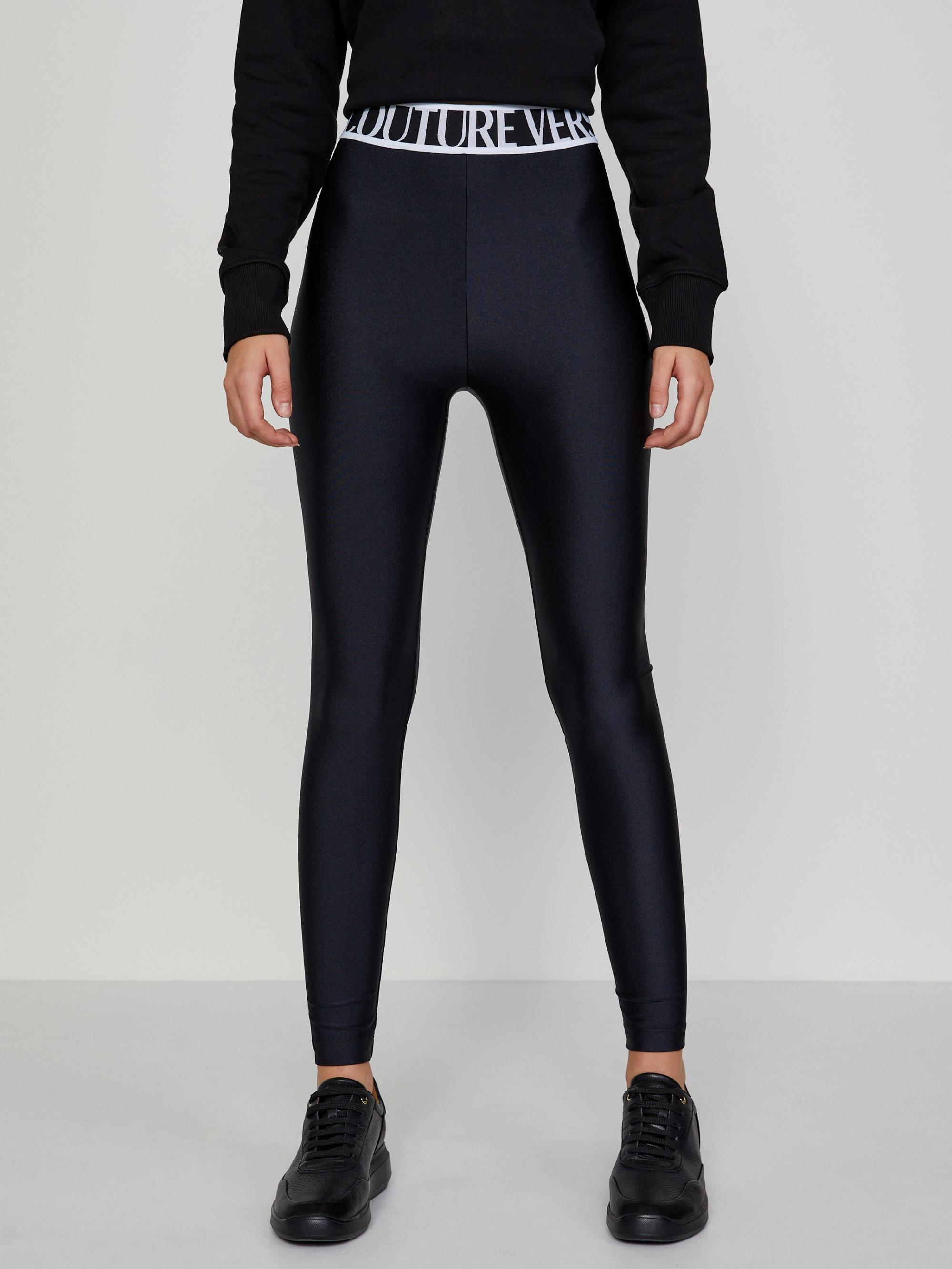 Černé dámské legíny Versace Jeans Couture - XXL
