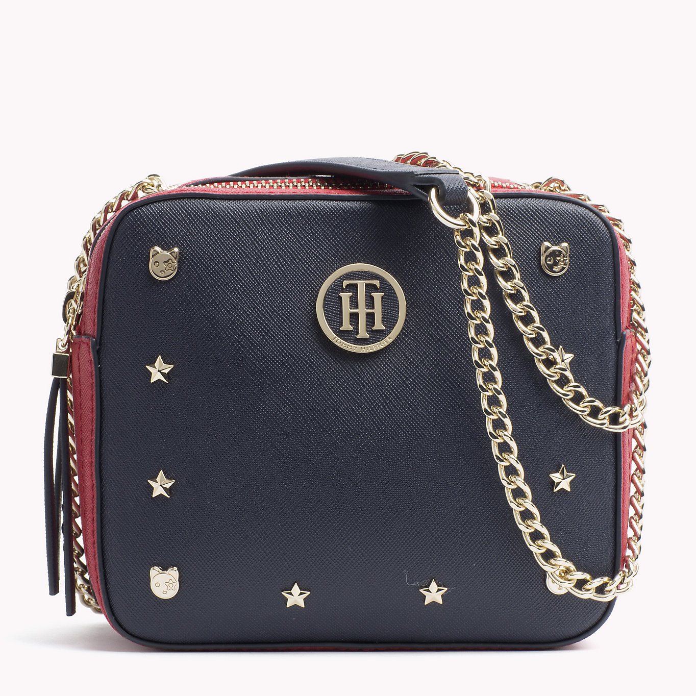Tommy Hilfiger malá crossbody kabelka Camera Bag Novelty Studs