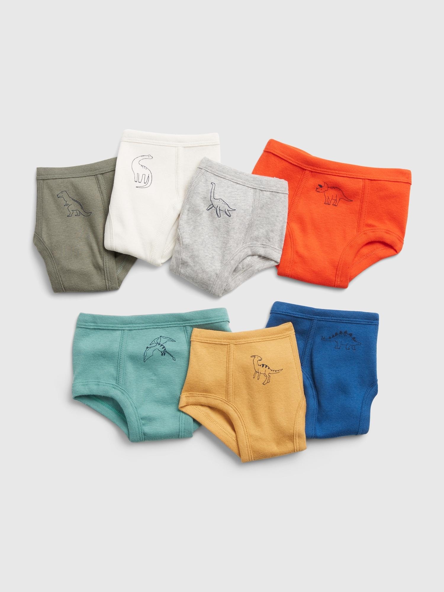 Chlapci - Dětské spodní prádlo, 7ks Barevná