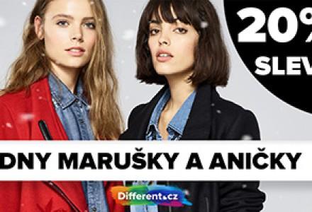 Dny Marušky a Aničky - 20% sleva na vše