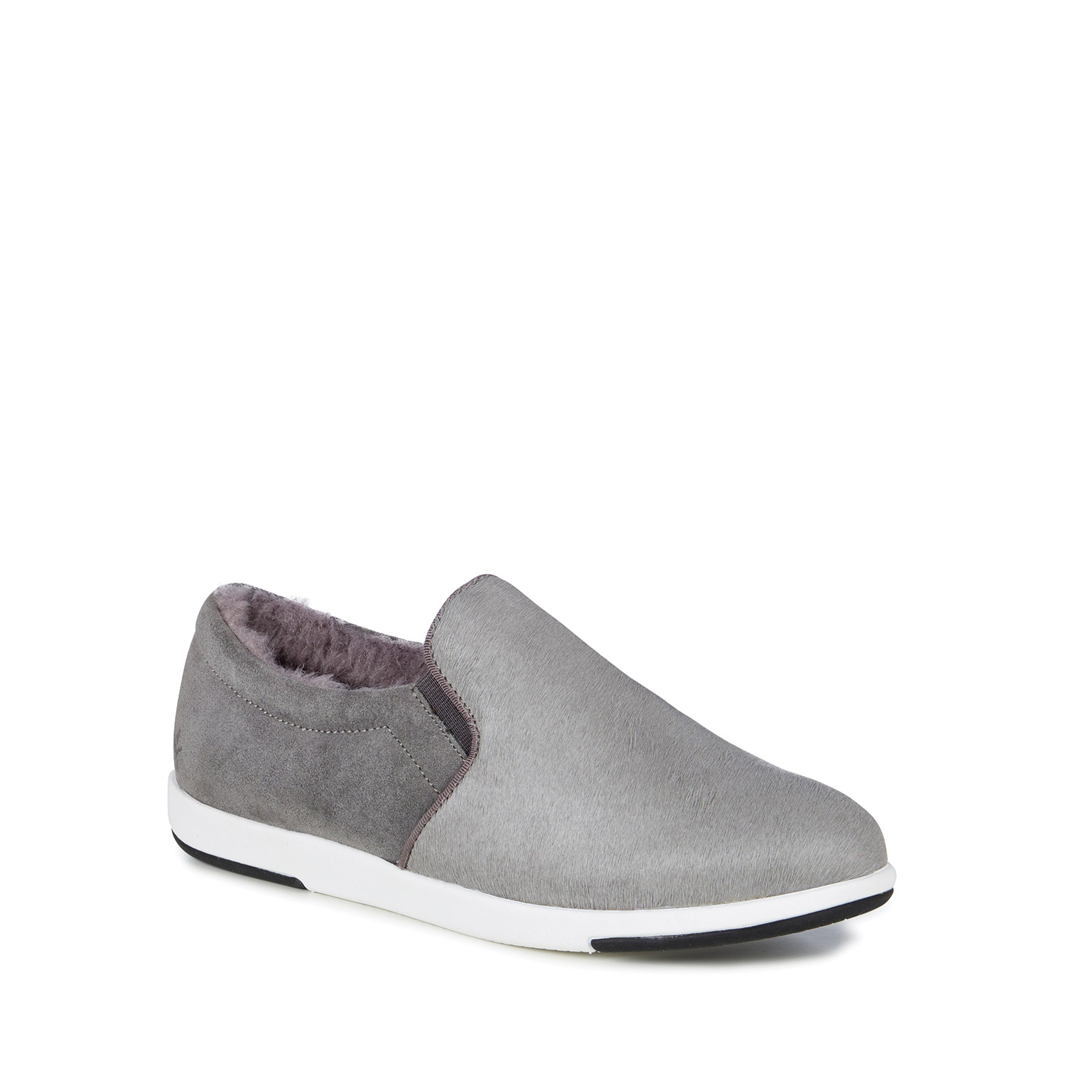 Emu šedé boty slip-on Brunswick Fur Dove Grey